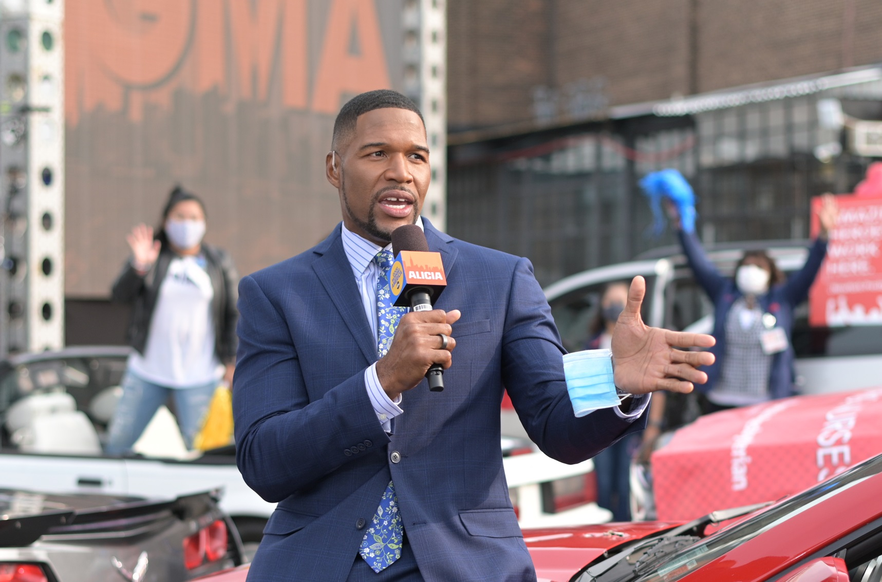 Michael Strahan Has Settled the Most Important Fight of His Life