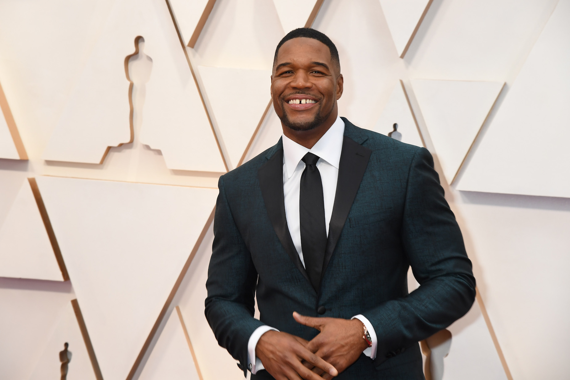 Michael Strahan has a key piece of business advice for anyone looking to change careers.
