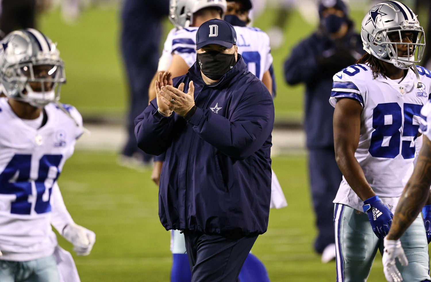 Cowboys head coach Mike McCarthy potentially saved his job by smashing watermelons as part of a team meeting before Sunday's game against the Minnesota Vikings.