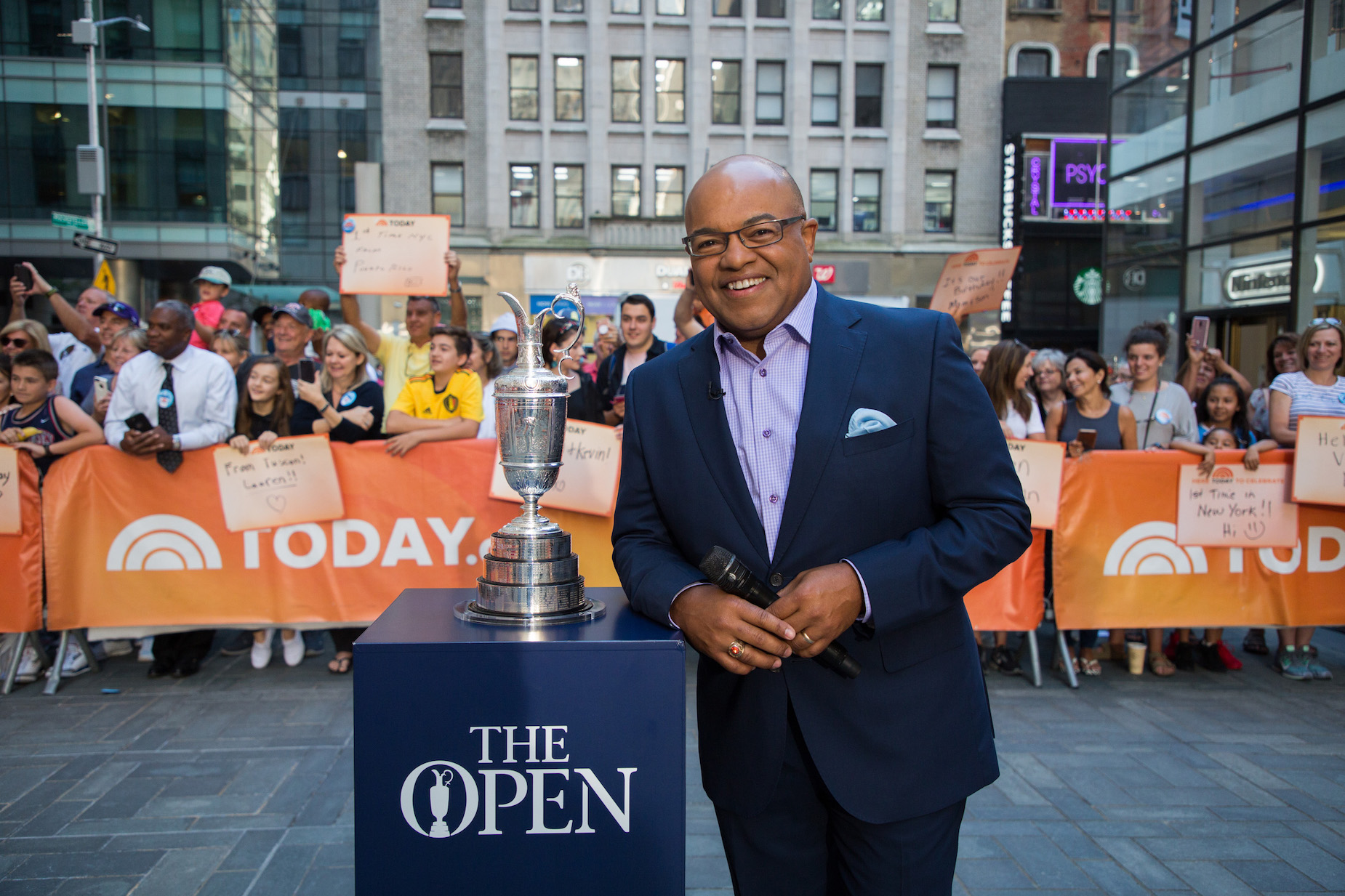 NBC's Mike Tirico once raised some eyebrows with comments about his race.