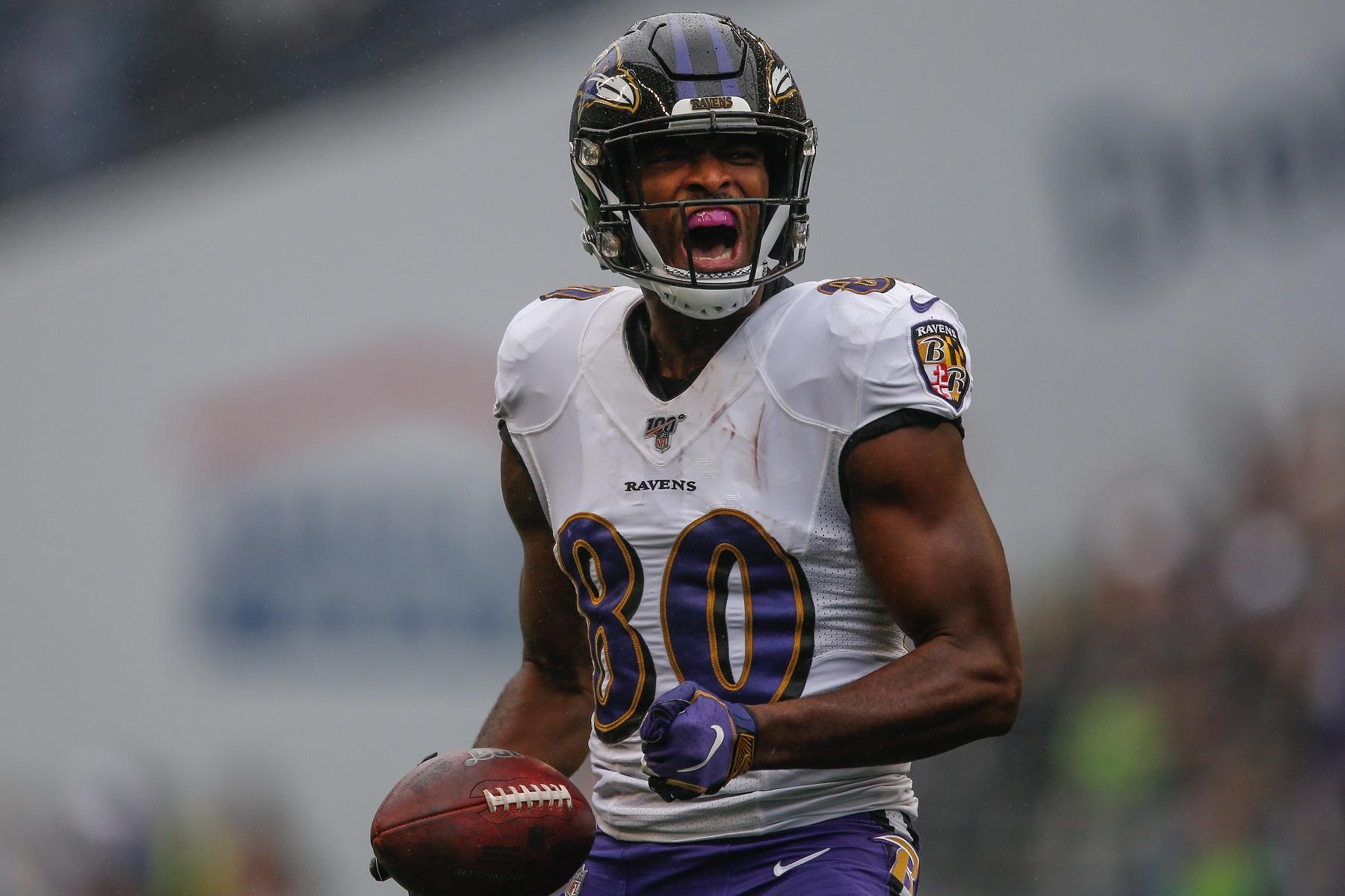 Miles Boykin, Baltimore Ravens