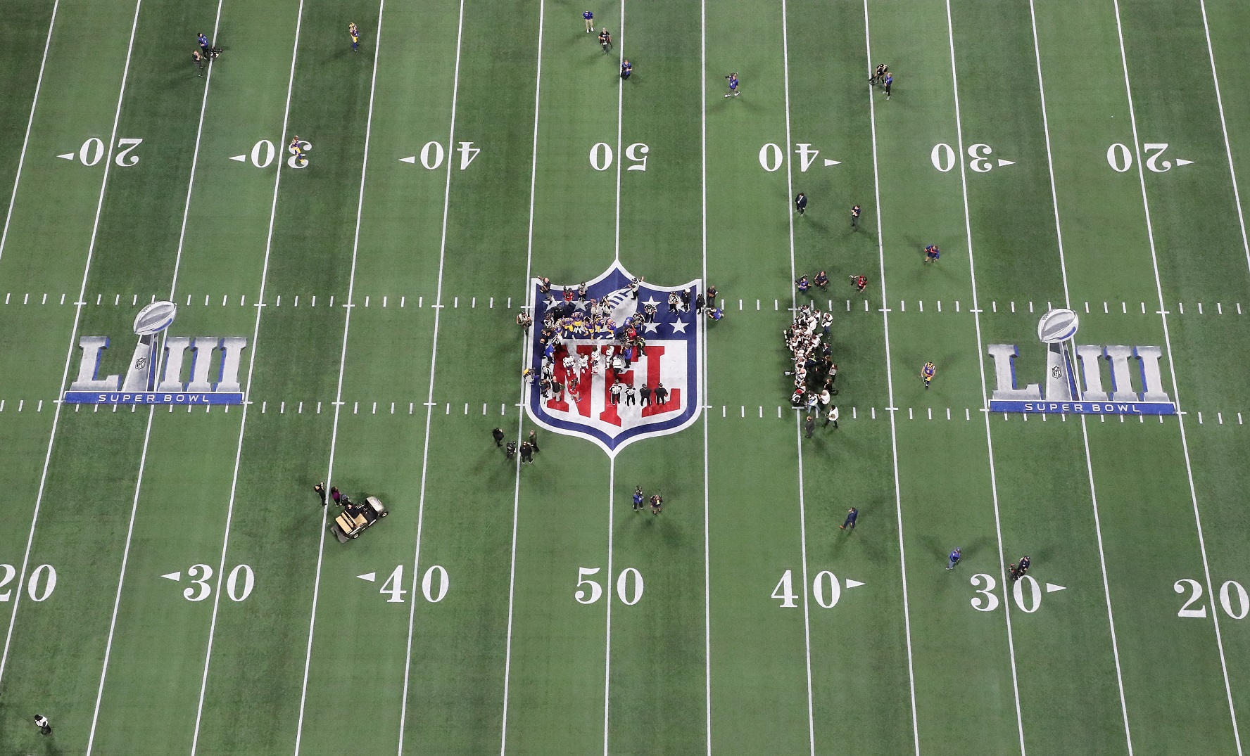 ESPN was the first network to superimpose the first-down line on the TV screen