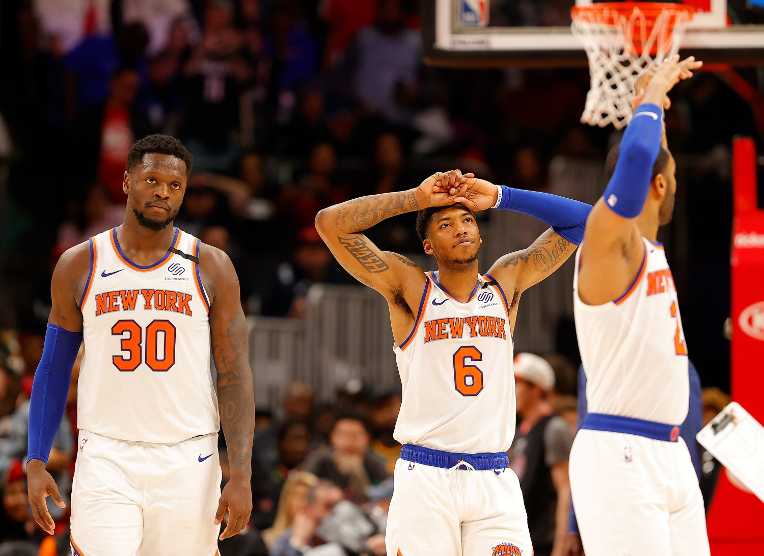 The New York Knicks Still Can't Decide About Trading for a New $21 Million Man