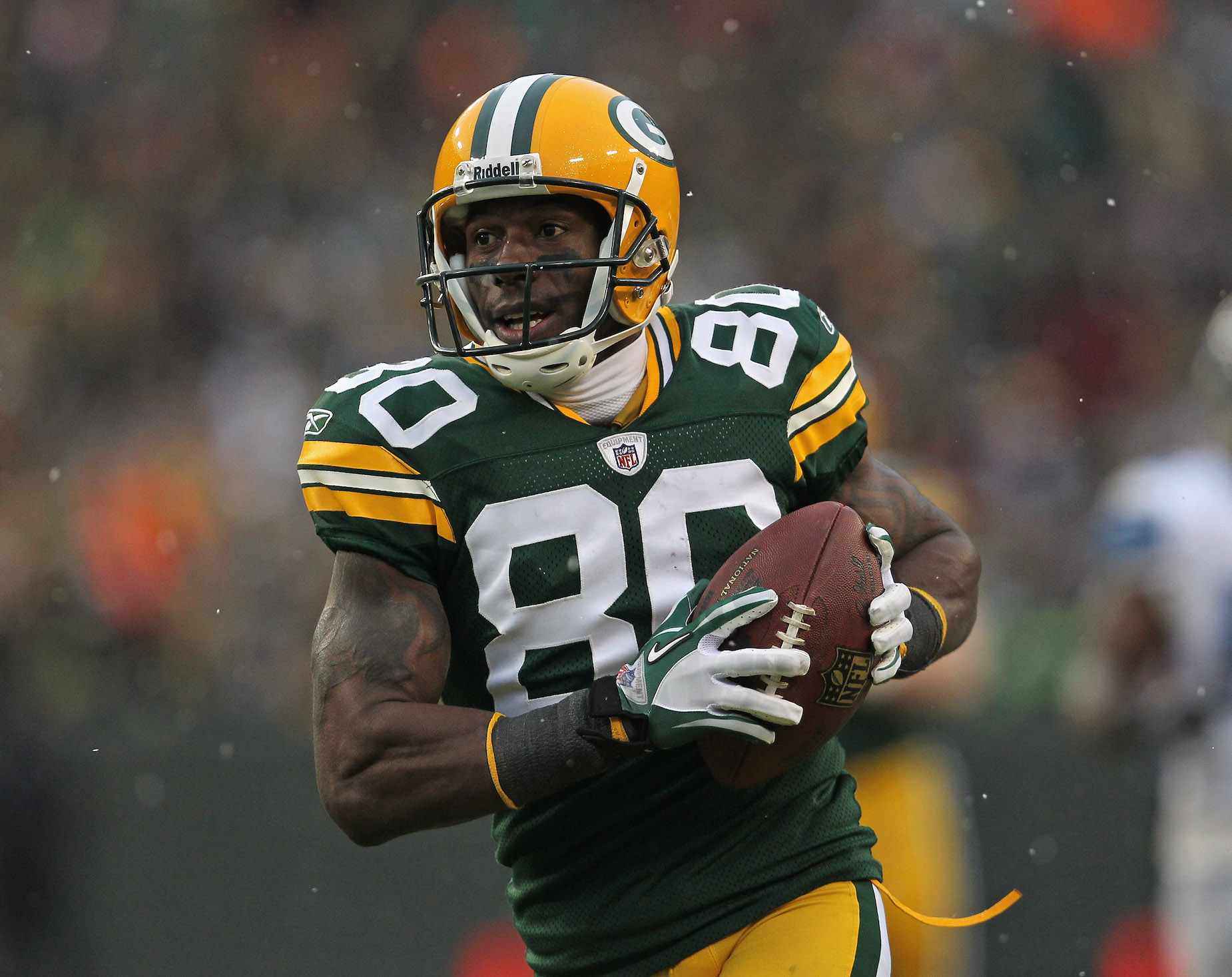 Donald Driver Was Homeless as a Child and Sold Drugs in College Before Becoming an Elite Green Bay Packers Receiver