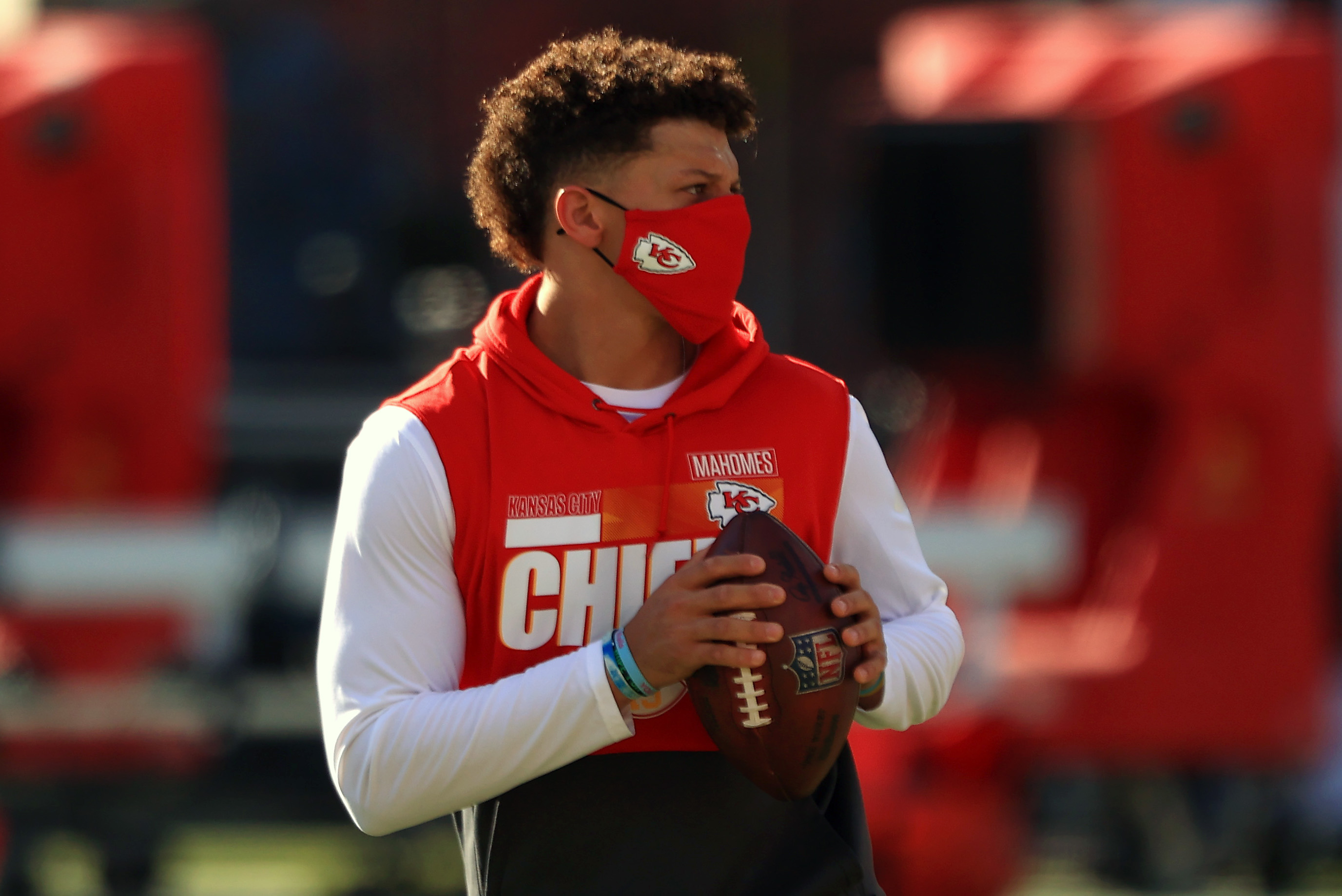 Kansas City Chiefs' Patrick Mahomes