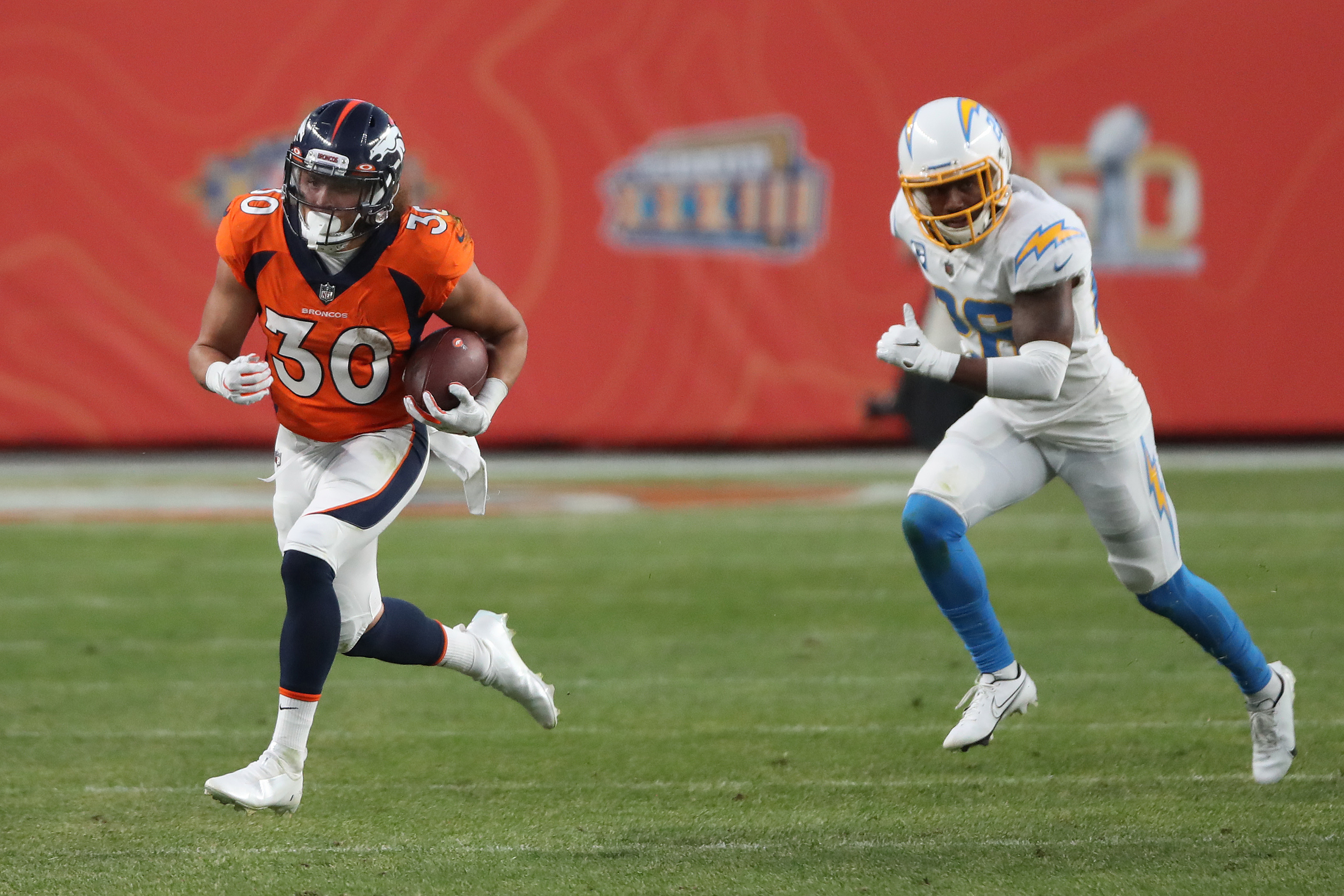 Denver Broncos running back Phillip Lindsay could enjoy a significant pay raise this offseason.