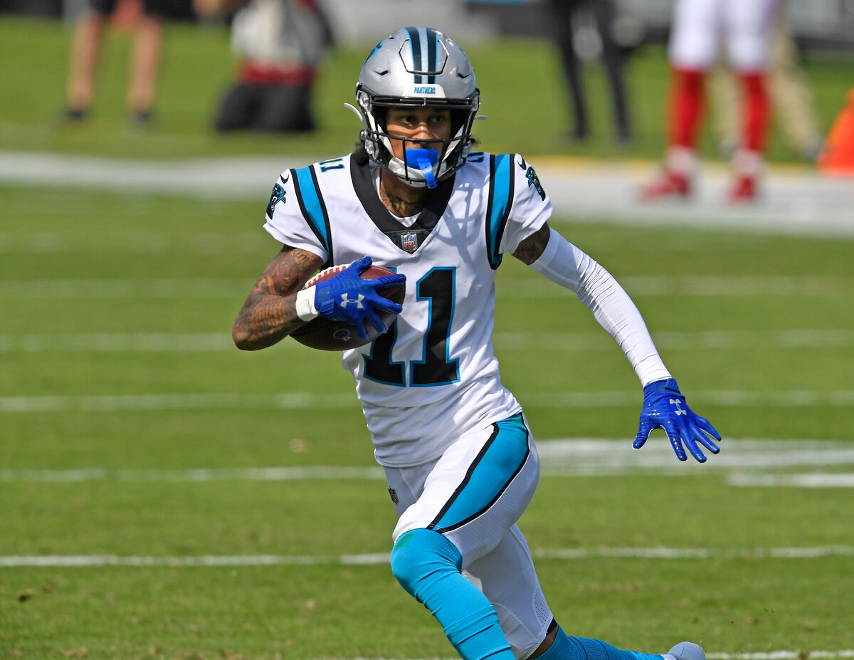Carolina Panthers receiver Robby Anderson is having a successful 2020 and has more than proved his value. Anderson only has one touchdown, though.