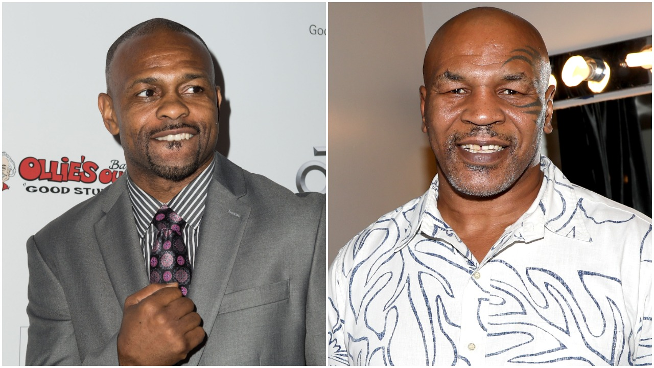 Roy Jones Jr. Mike Tyson