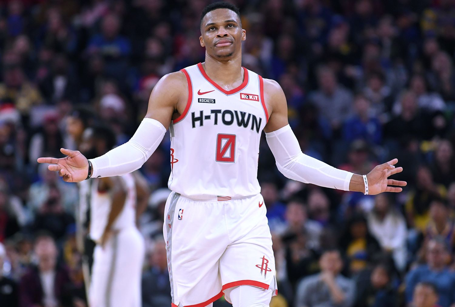 With $132 million remaining on his contract, Russell Westbrook may have a hard time finding a way to escape from the Houston Rockets if NBA teams don't want to pay that price.
