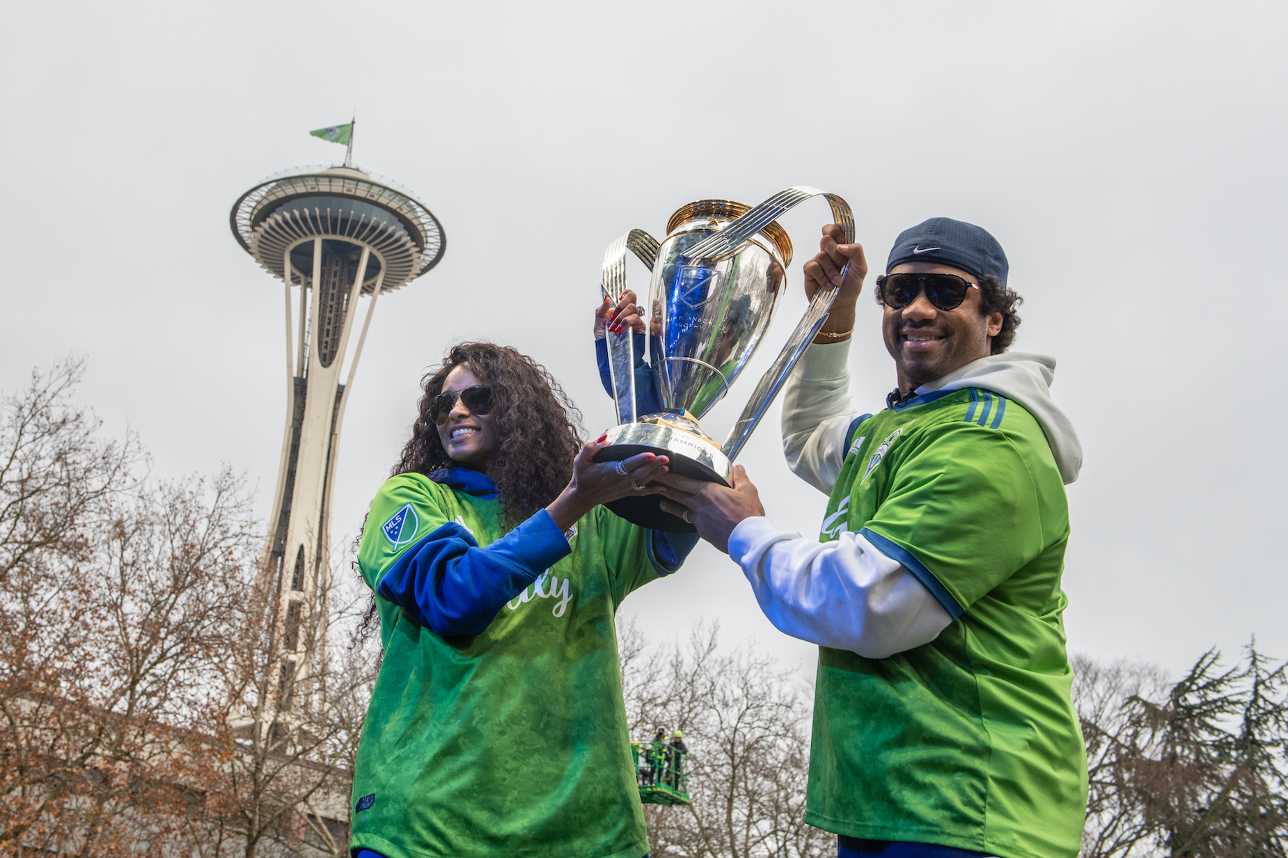 Seattle Seahawks quarterback Russell Wilson has used his massive net worth to purchase a portion of the MLS' Seattle Sounders.