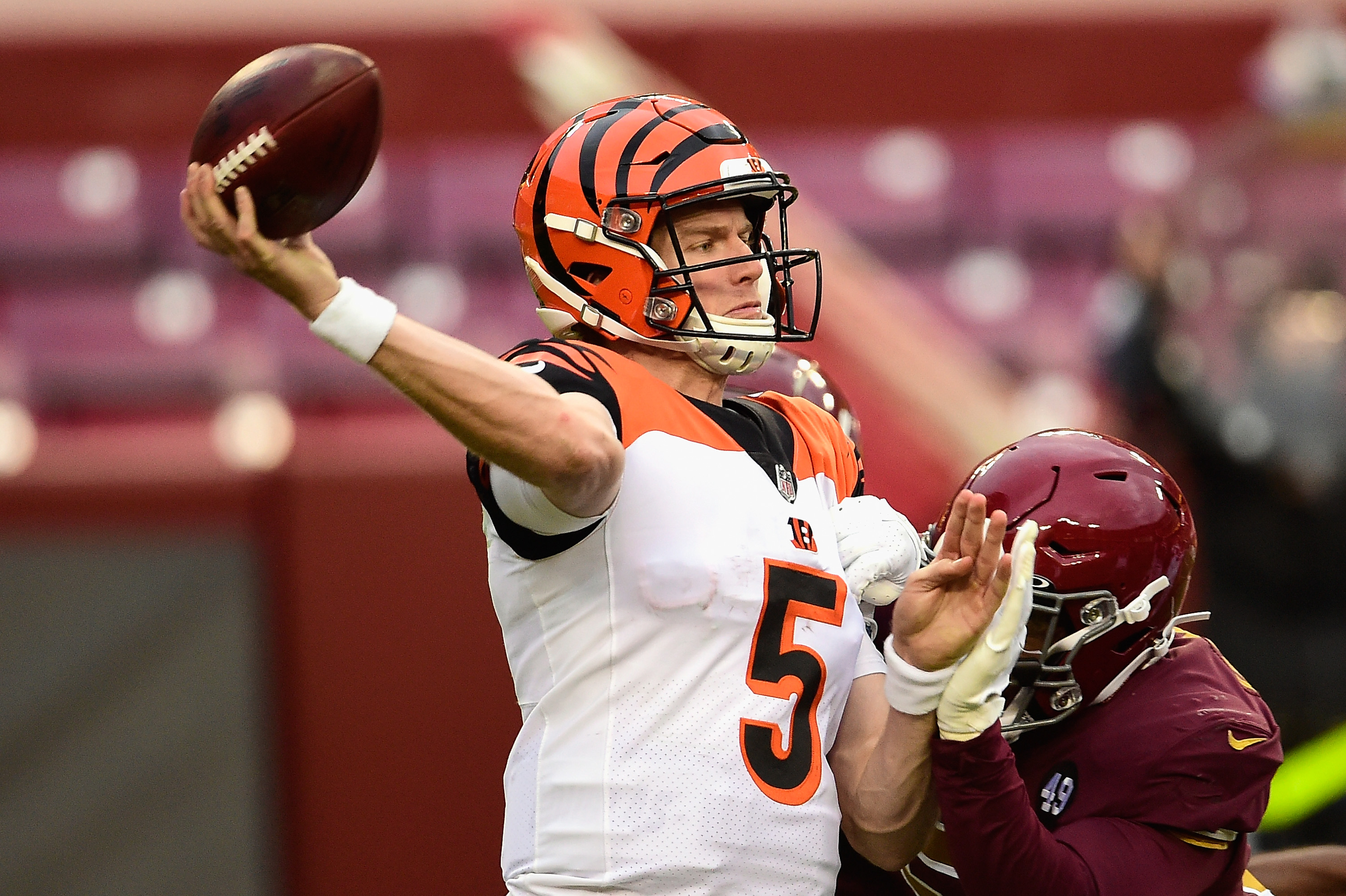 Cincinnati Bengals quarterback Joe Burrow's season is over after 10 games. Here's everything that you need to know about Ryan Finley, Burrow's replacement.