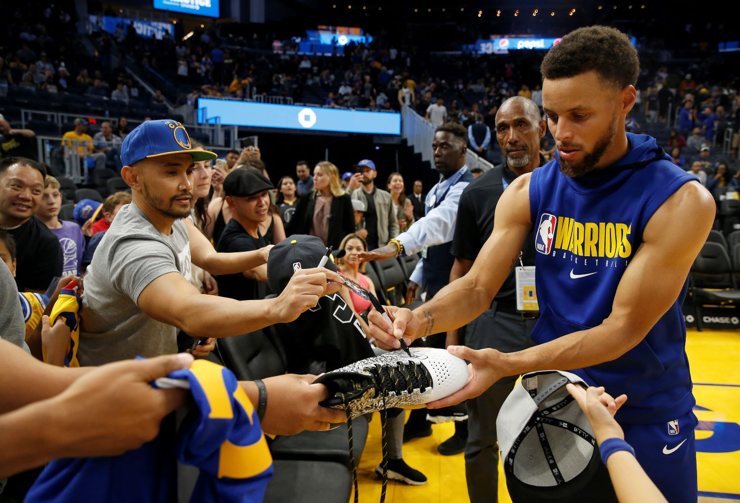 The Golden State Warriors unveiled a $30 million COVID-19 plan that could save the NBA by getting fans back in the stands.