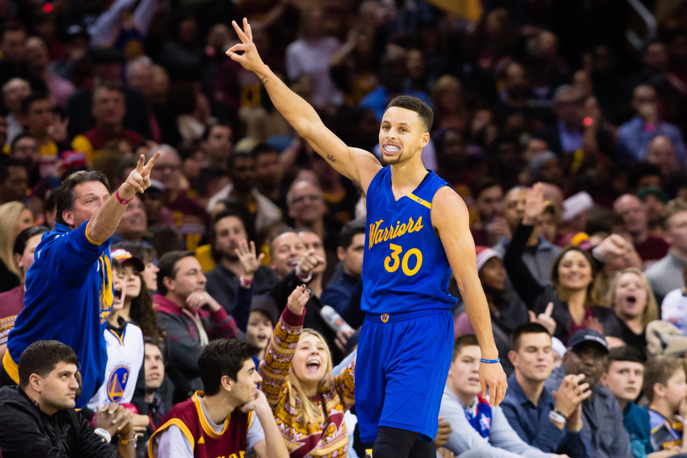 Stephen Curry looks to have a big year for the Golden State Warriors. His former teammate just sent a strong message about Curry, too.