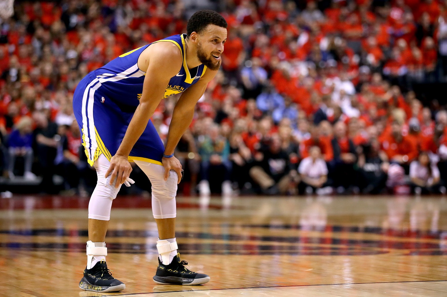 Stephen Curry Warriors strong message to Lakers