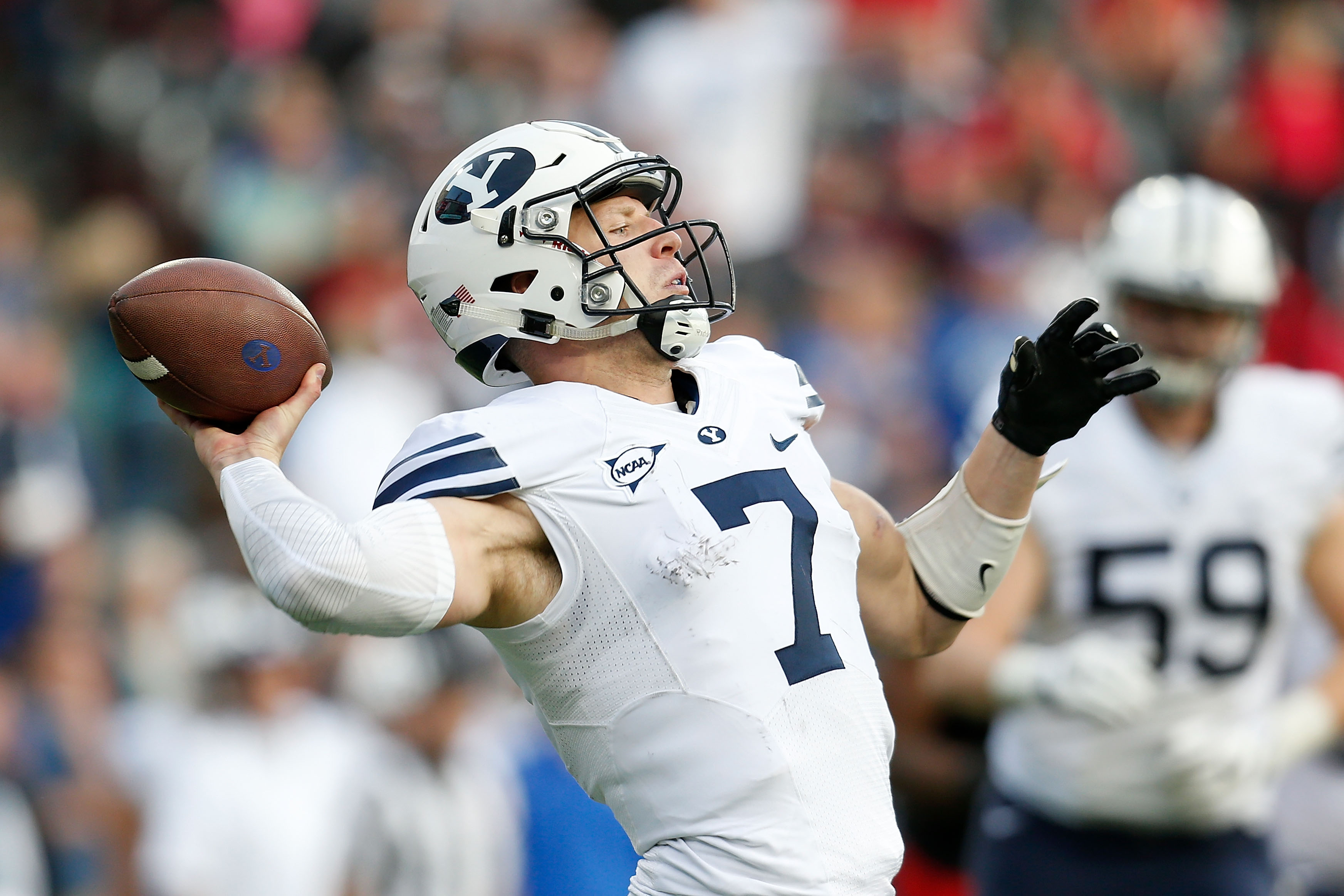 Taysom Hill suffered four season-ending injuries in college.