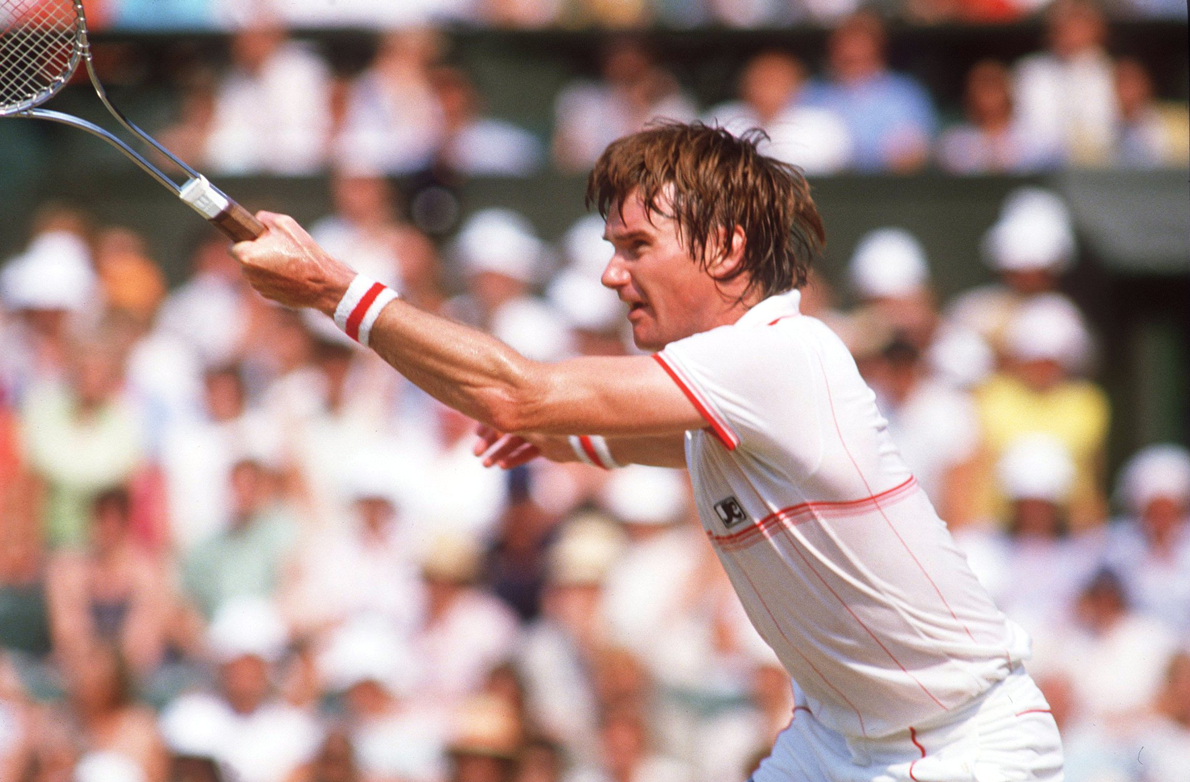 Jimmy Connors plays John McEnroe in 1984 Wimbledon