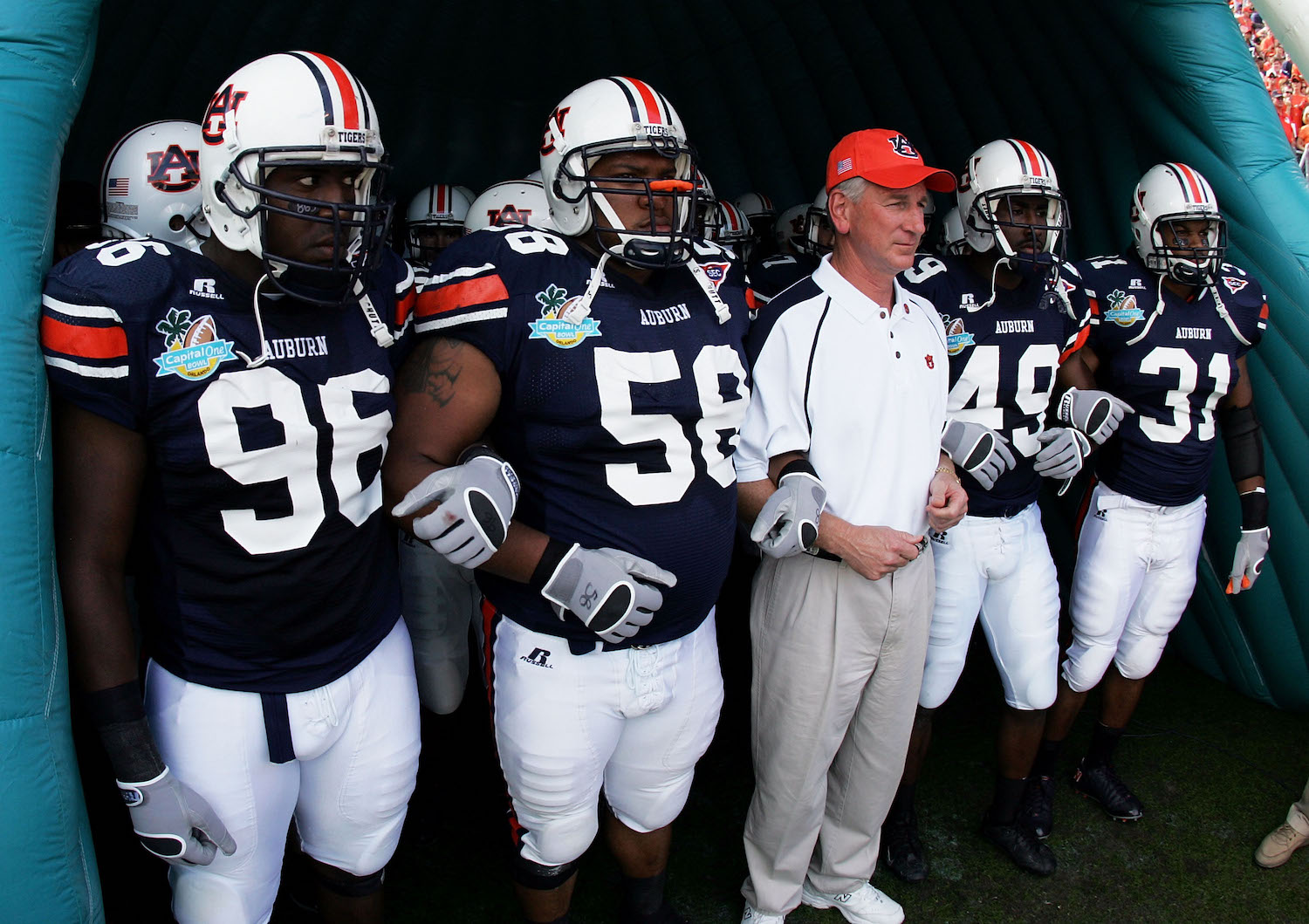 Tommy Tuberville's Former Players Upset by Candidacy and Call Him 'Shameful'
