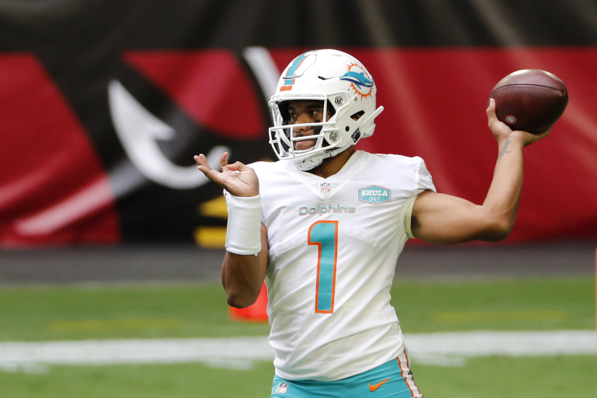 Miami Dolphins quarterback Tua Tagovailoa is taking the NFL by storm. Some football fans have wondered if Tagovailoa is Black. We have the answer.