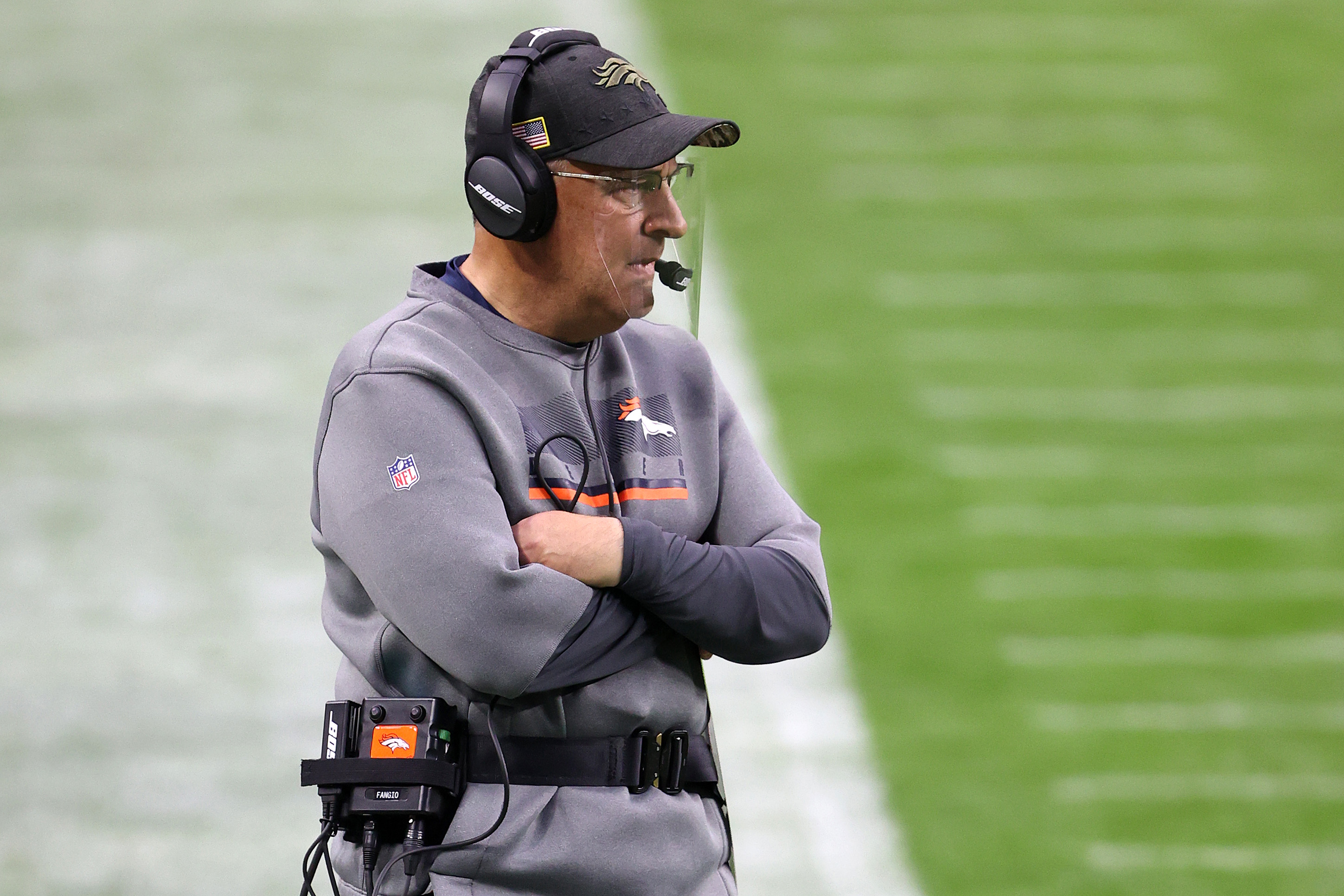 Denver Broncos coach Vic Fangio called out his quarterbacks after Sunday's debacle.