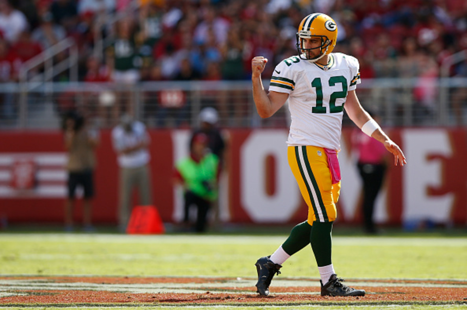 Aaron Rodgers was not a big-time recruit out of high school