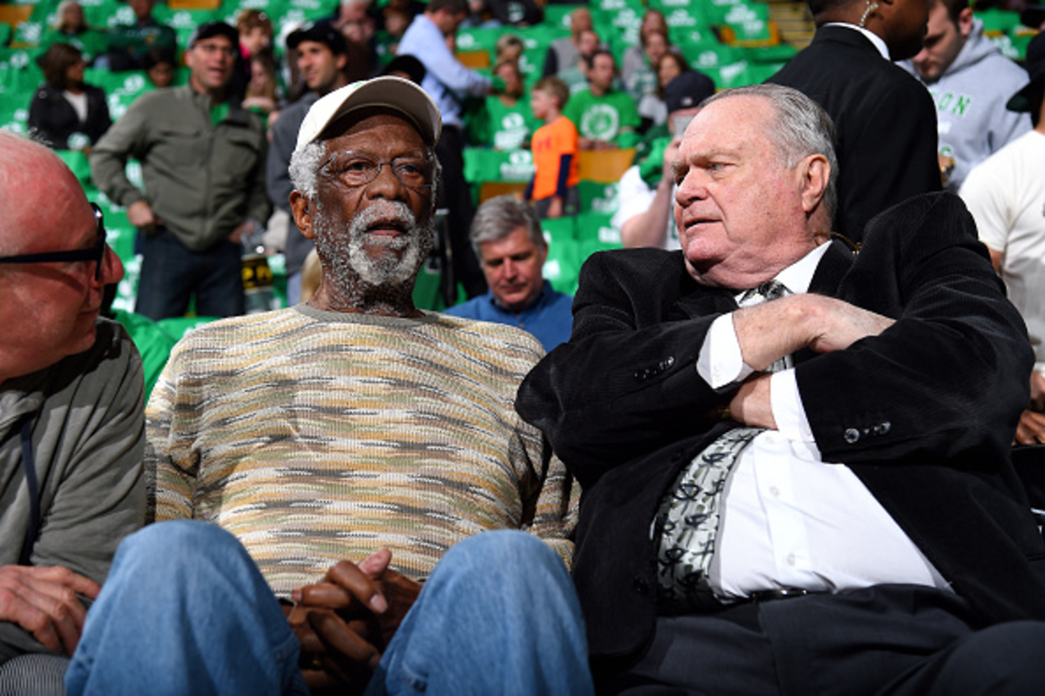 Bill Russell sent a special message to his former teammate who passed away