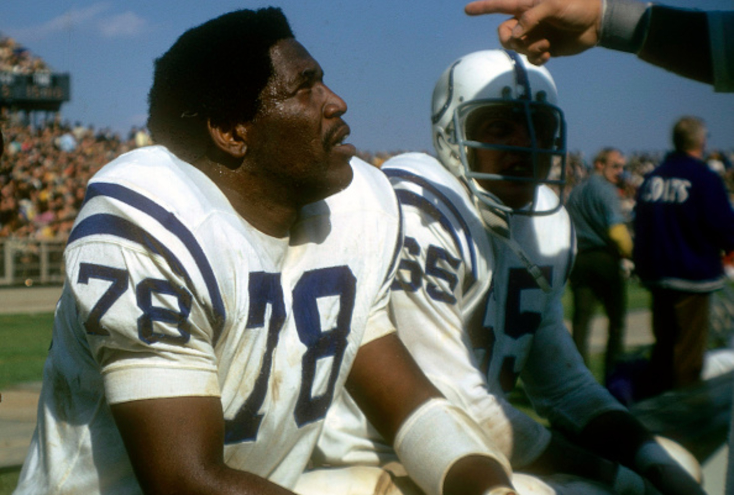Bubba Smith was an important part of the Colts' defense