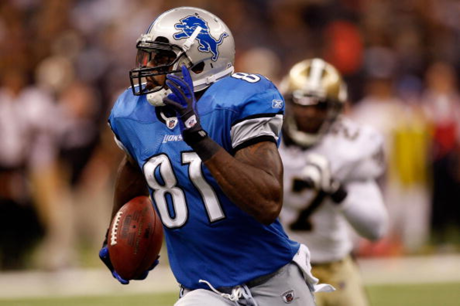 Calvin Johnson had a remarkable career with the Lions