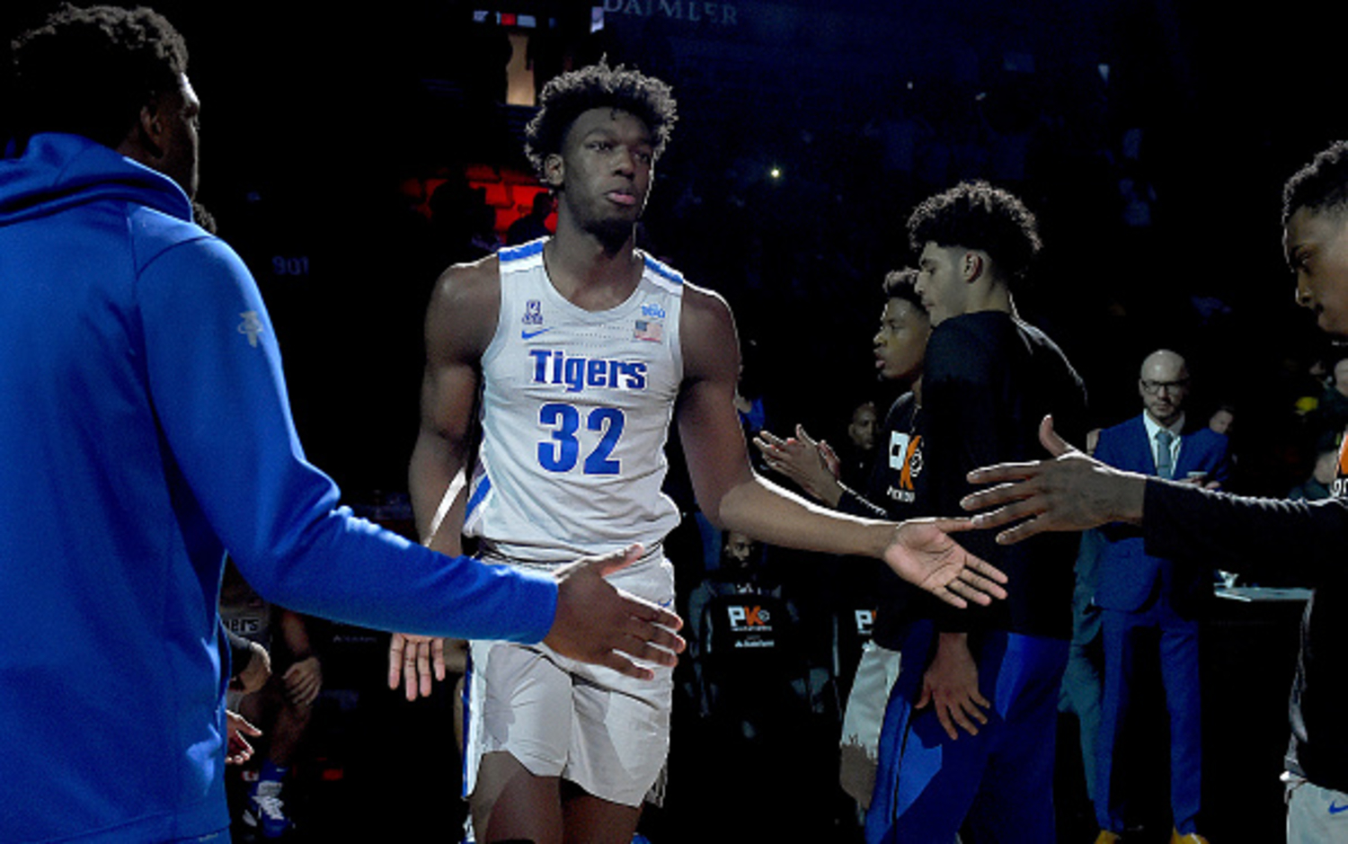 Despite Missing Most of His College Career, James Wiseman Still Became a Top NBA Draft Prospect