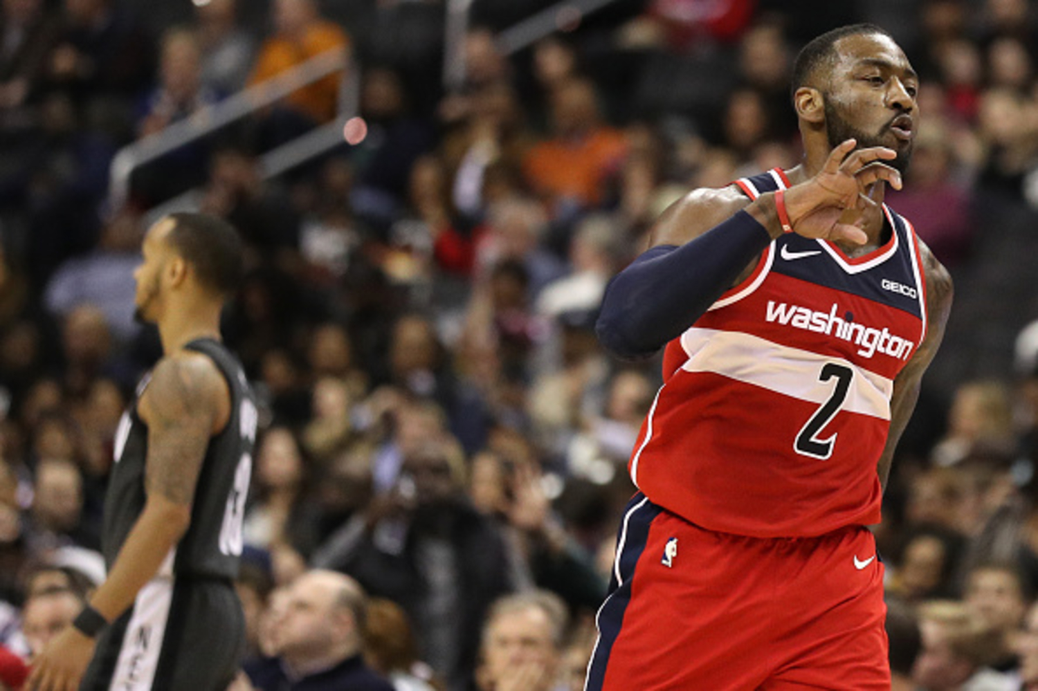 John Wall is gearing up for his return to the NBA