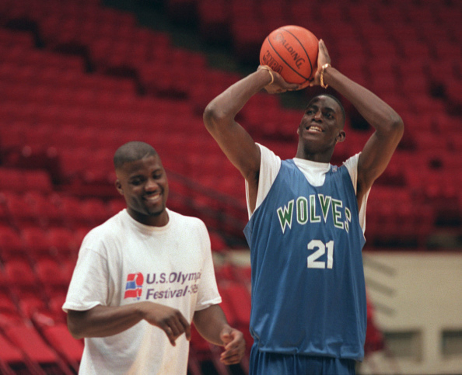 Kevin Garnett made his NBA debut 25 years ago