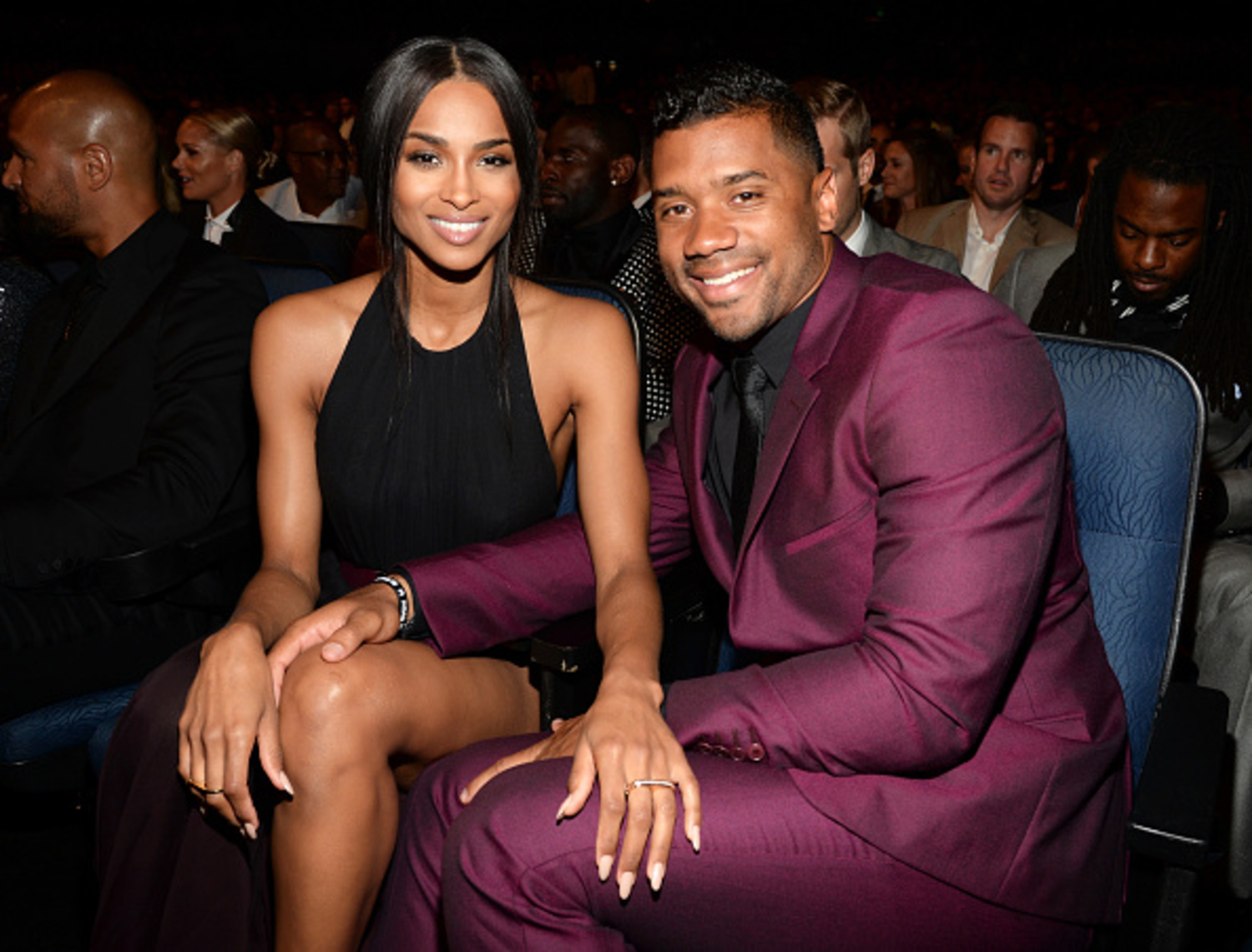 Russell Wilson and Ciara donating money