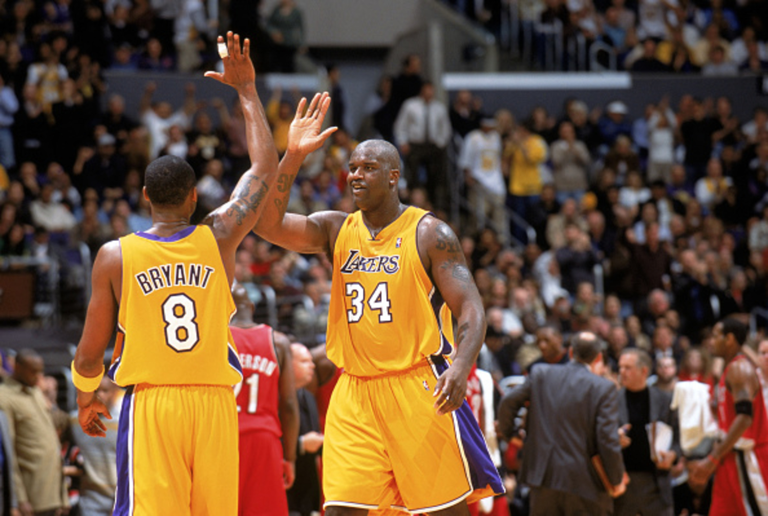 Shaquille O'Neal and Kobe Bryant had a lot of success together