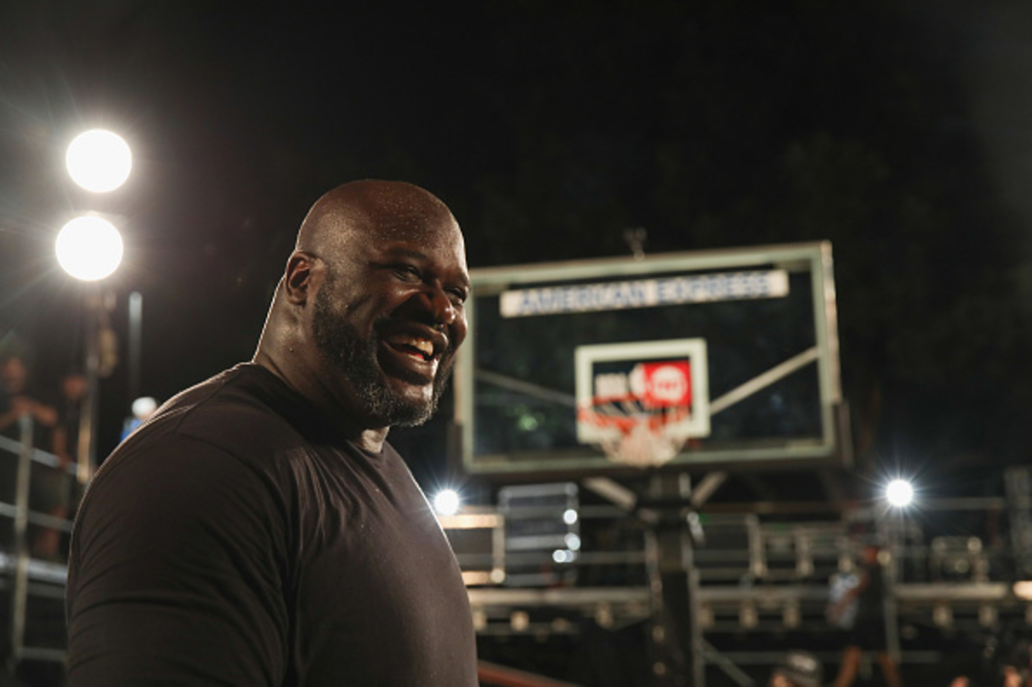 Shaquille O'Neal won four titles during his NBA career