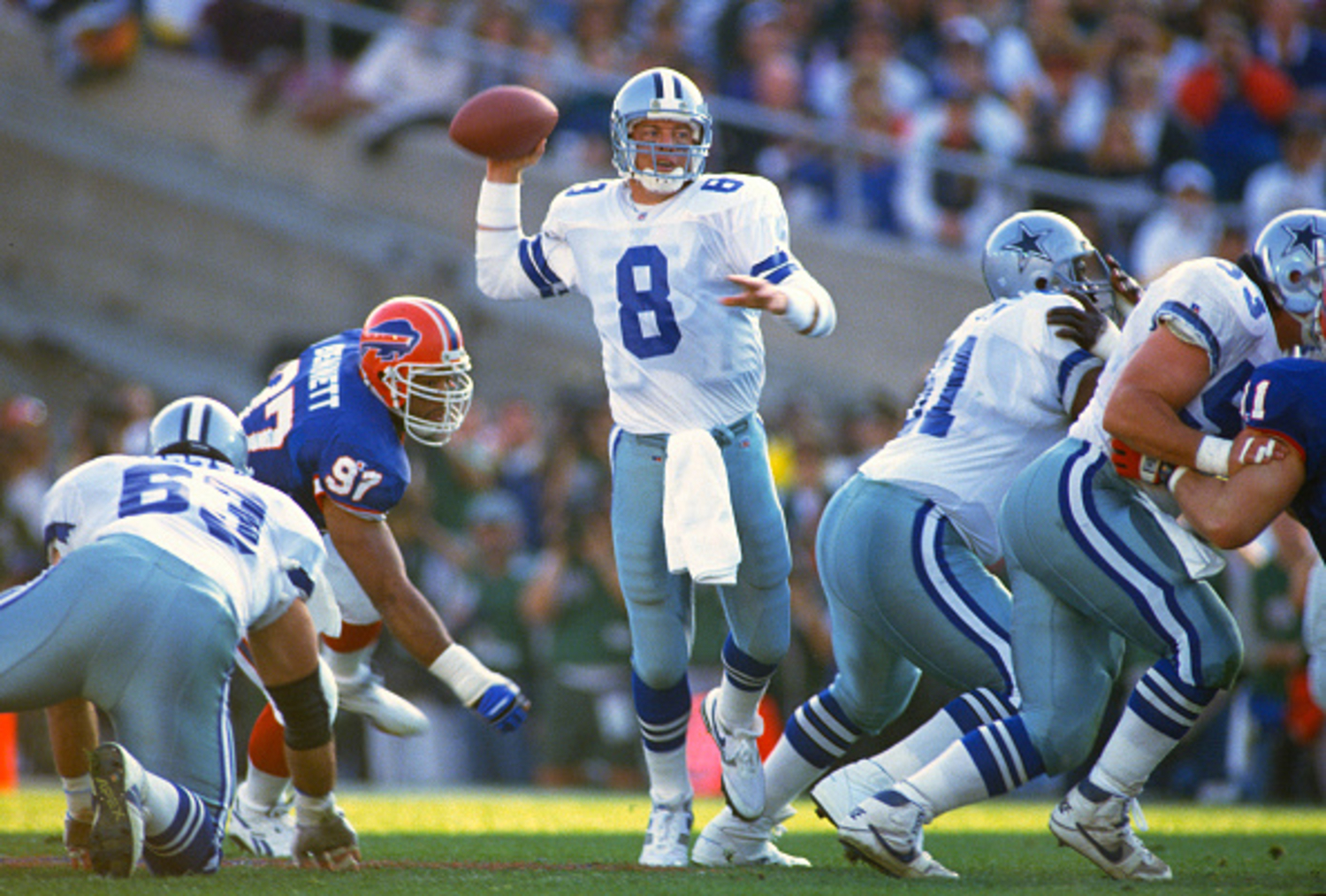 Troy Aikman Set a Thanksgiving Day Record 22 Years Ago While Throwing 1 Touchdown