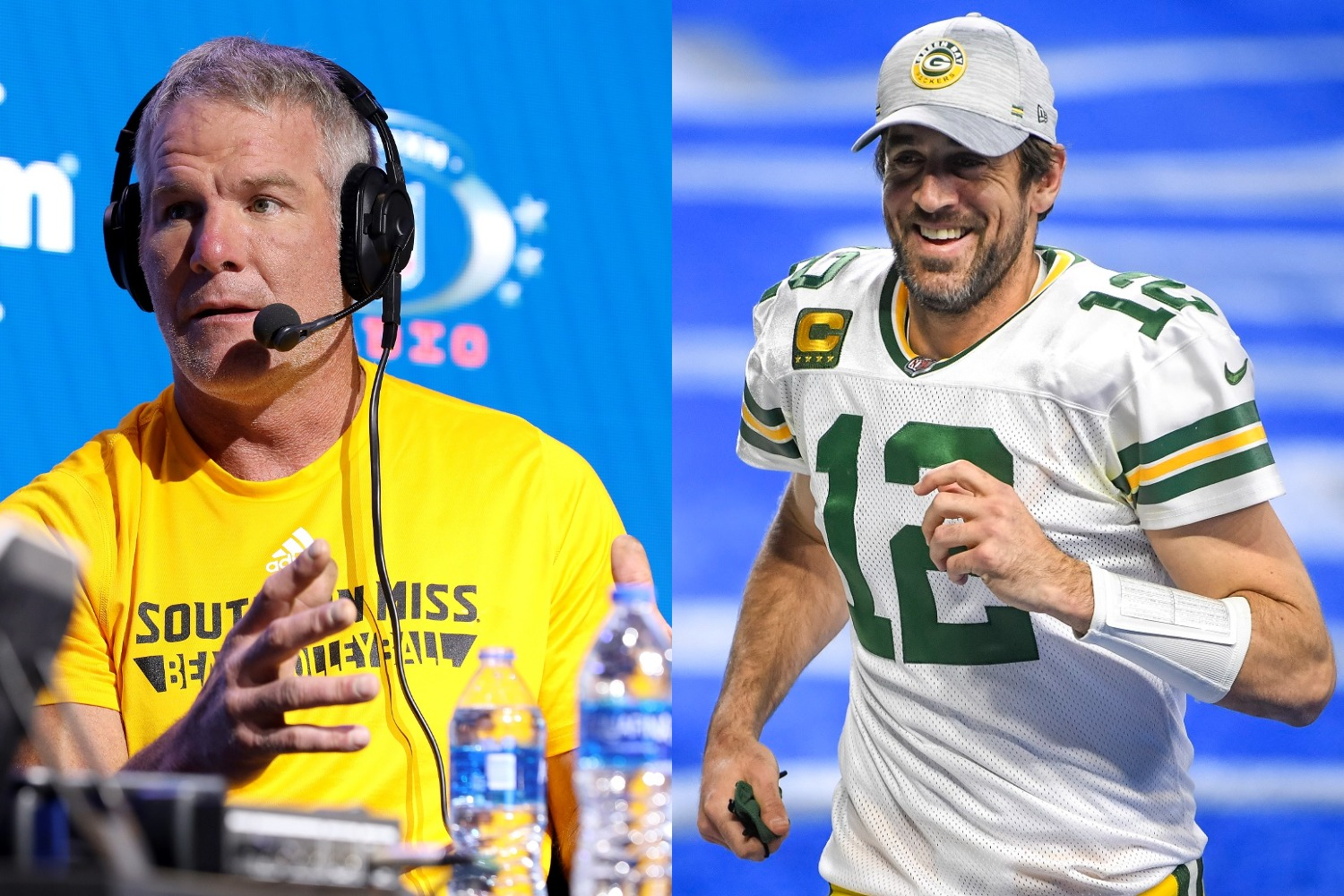 Aaron Rodgers Brett Favre ultimate compliment Packers