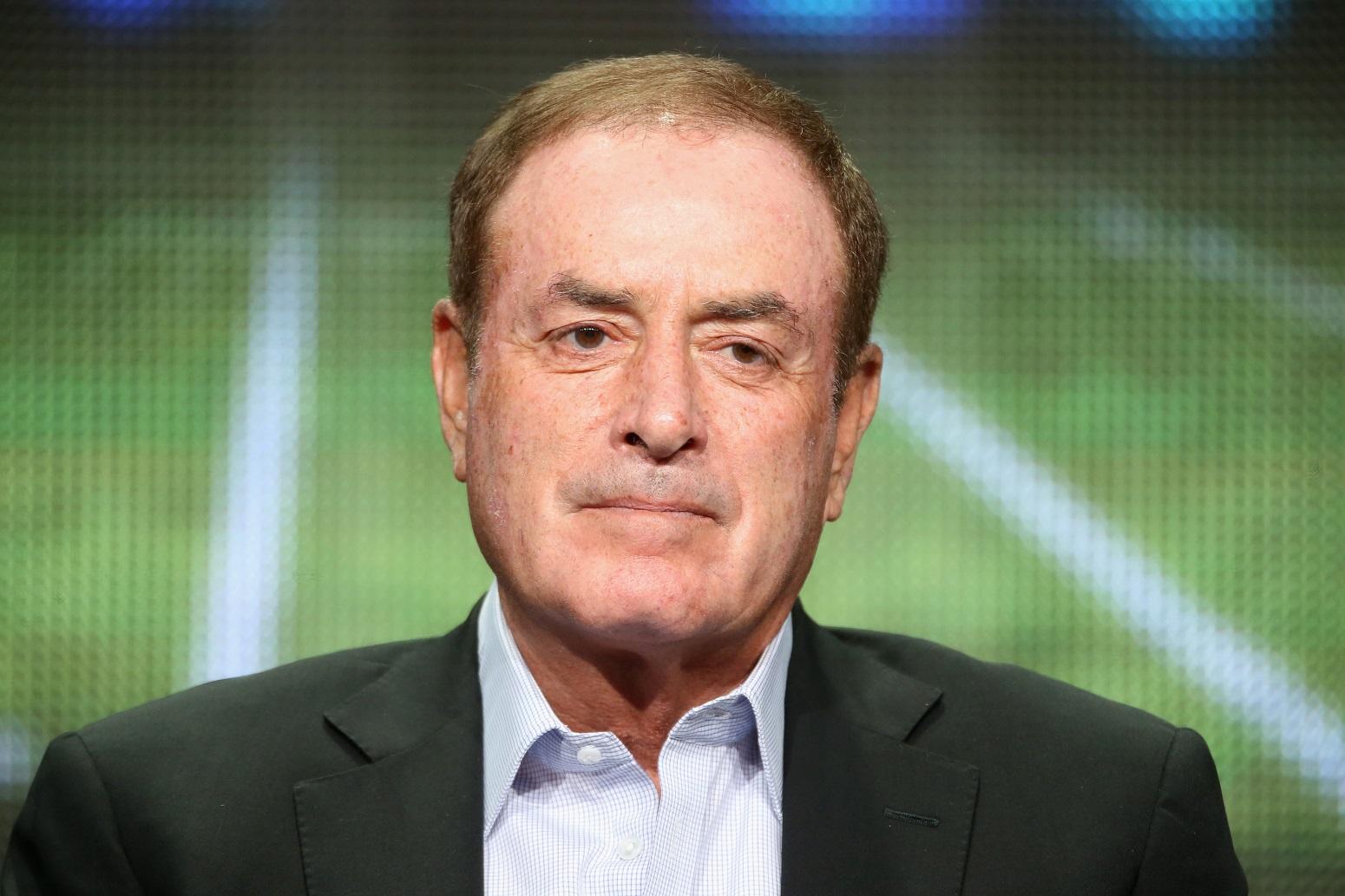Al Michaels invokes Tom Brady to reveal retirement plans