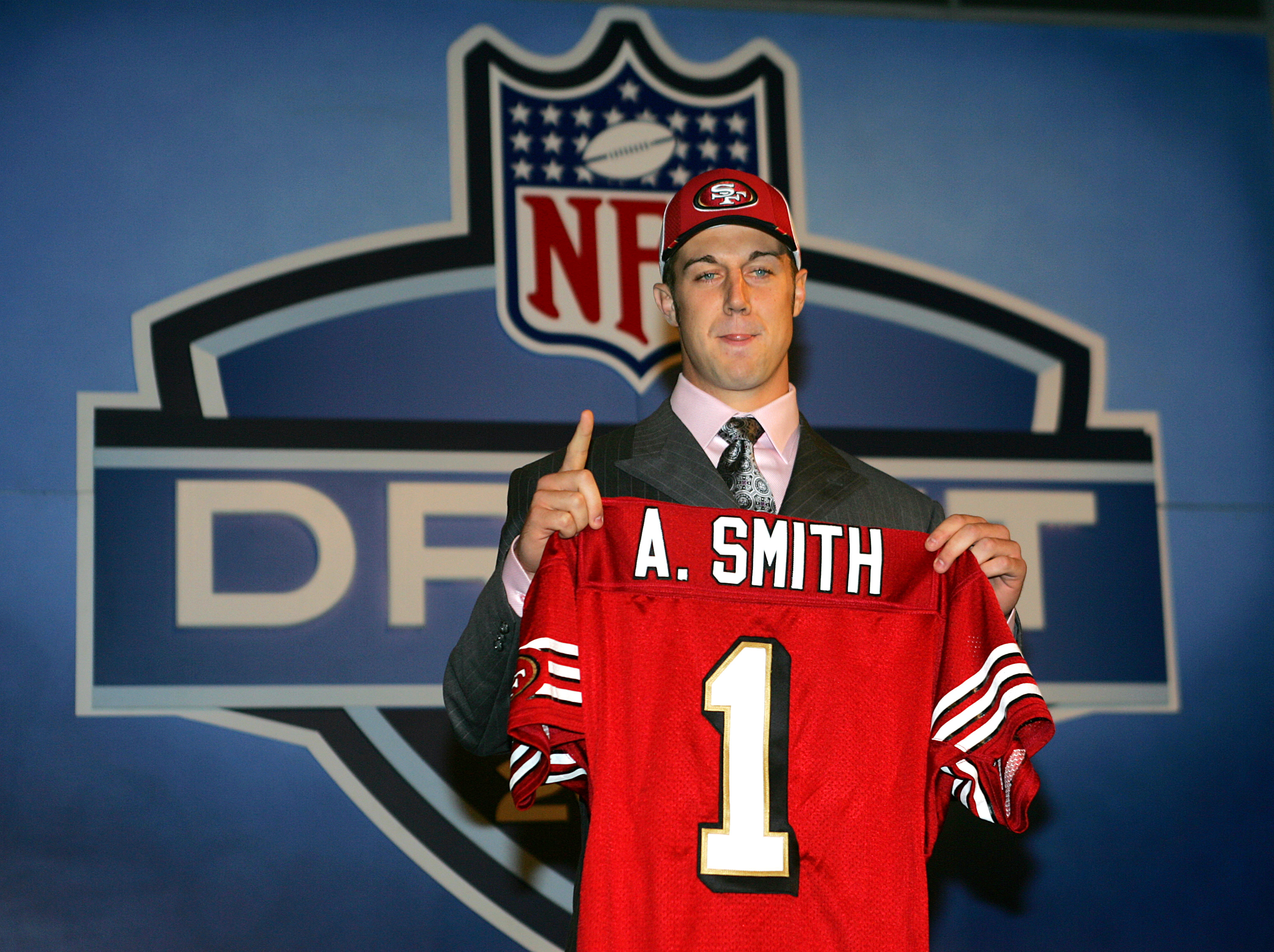 Alex Smith Reveals Going No. 1 Overall 'Added to My Anxiety'