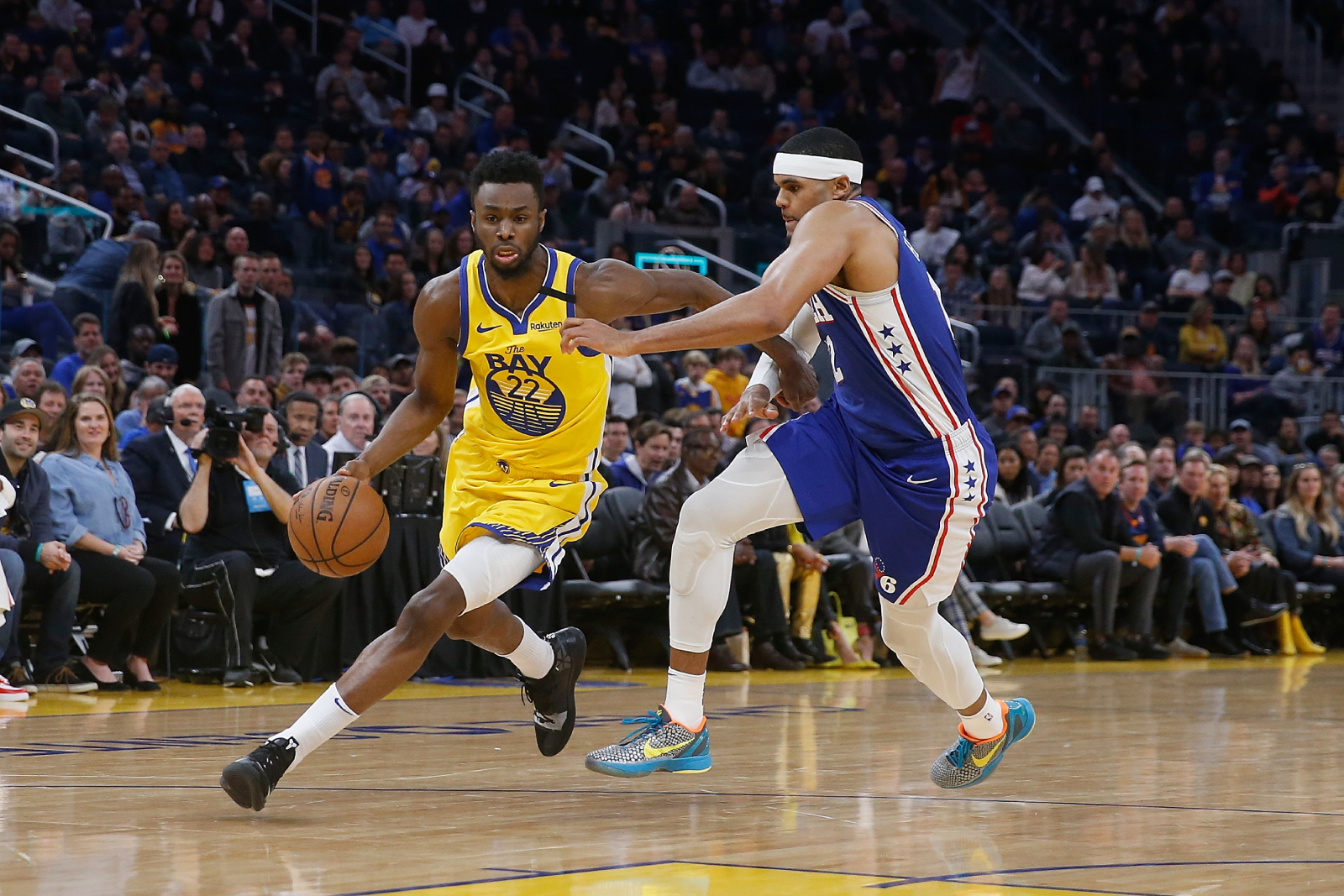 Andrew Wiggins is in an explosive backcourt on the Golden State Warriors. He recently sent an encouraging message about that backcourt, too.
