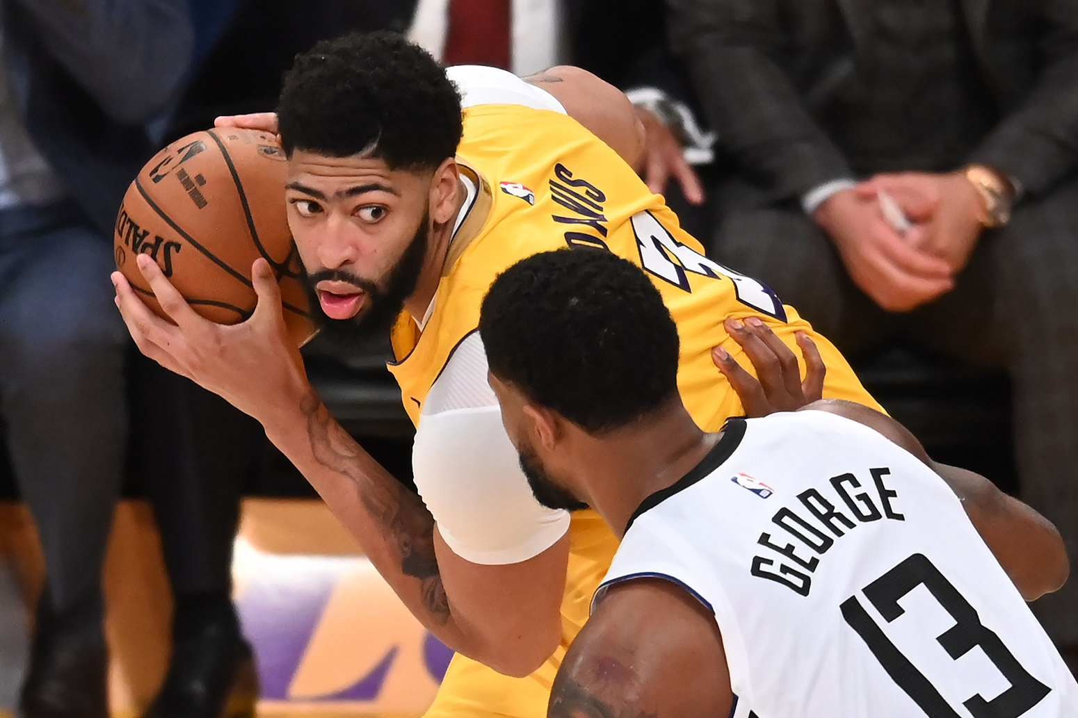 Anthony Davis Paul George finally admits to something Lakers Clippers