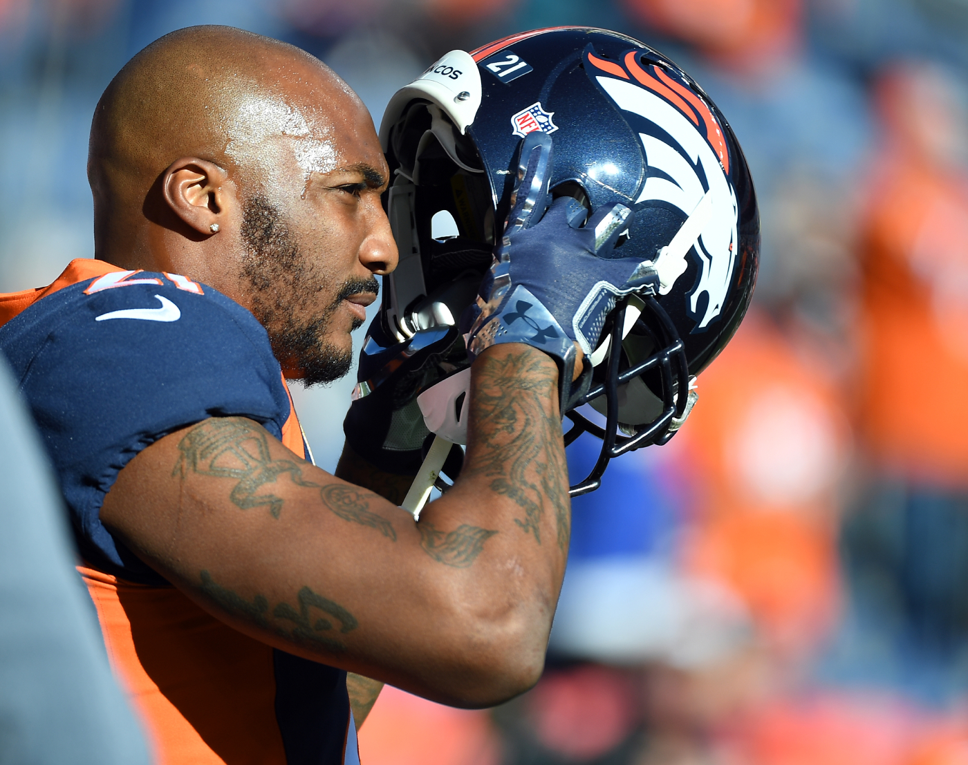 Aqib Talib described what it was like to play football on Adderall.