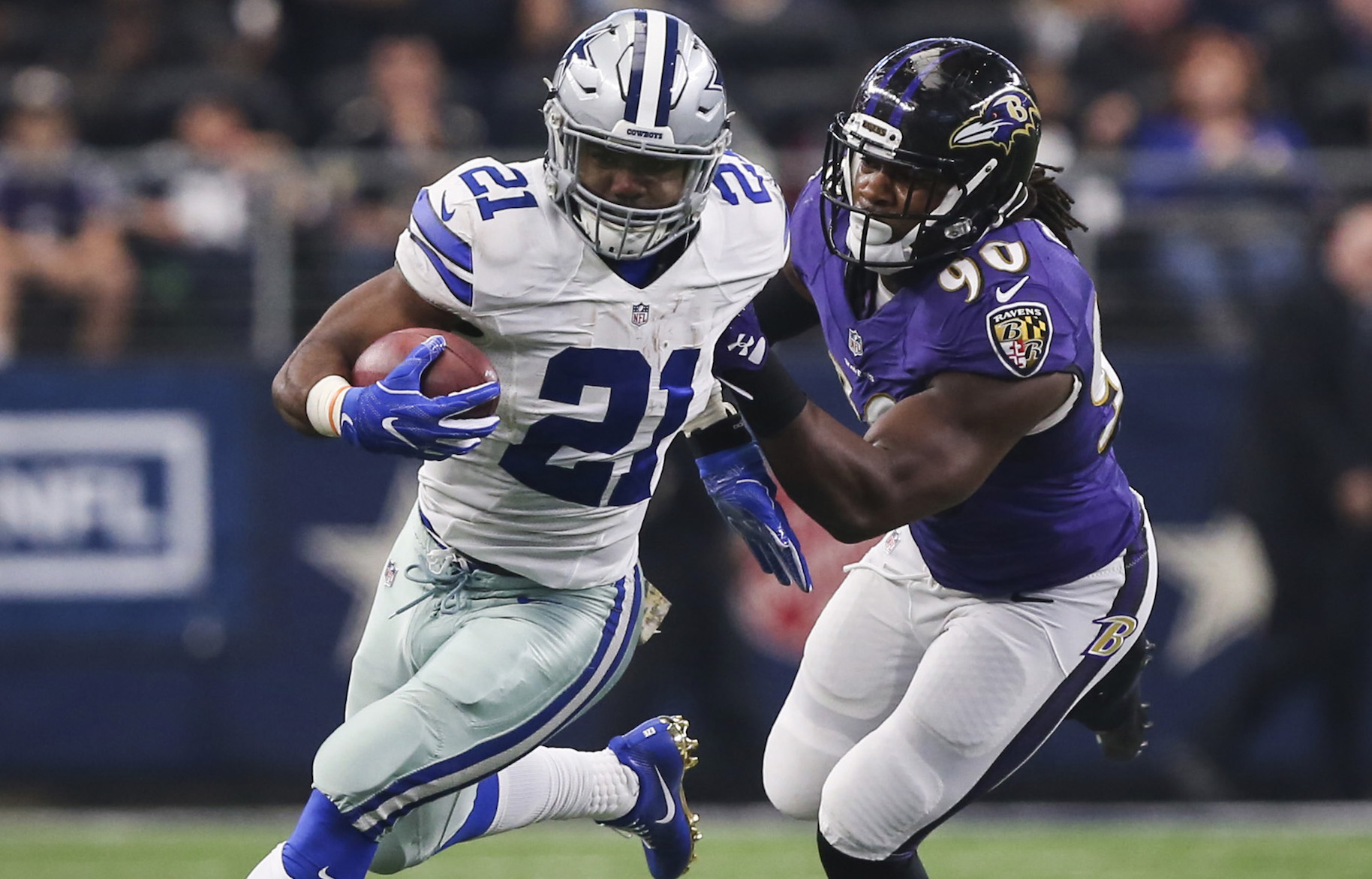 Why are the Dallas Cowboys and Baltimore Ravens playing on Tuesday night?
