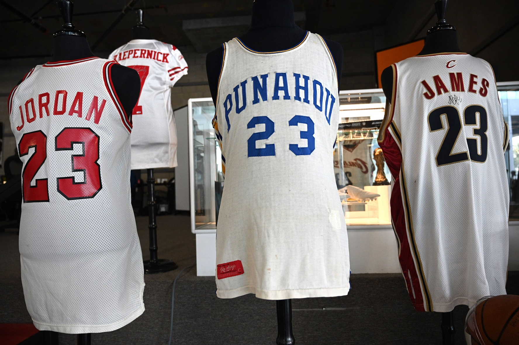 Barack Obama's high school jersey