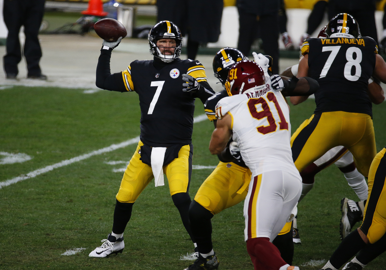 Why does Pittsburgh Steelers quarterback Ben Roethlisberger wear No. 7?