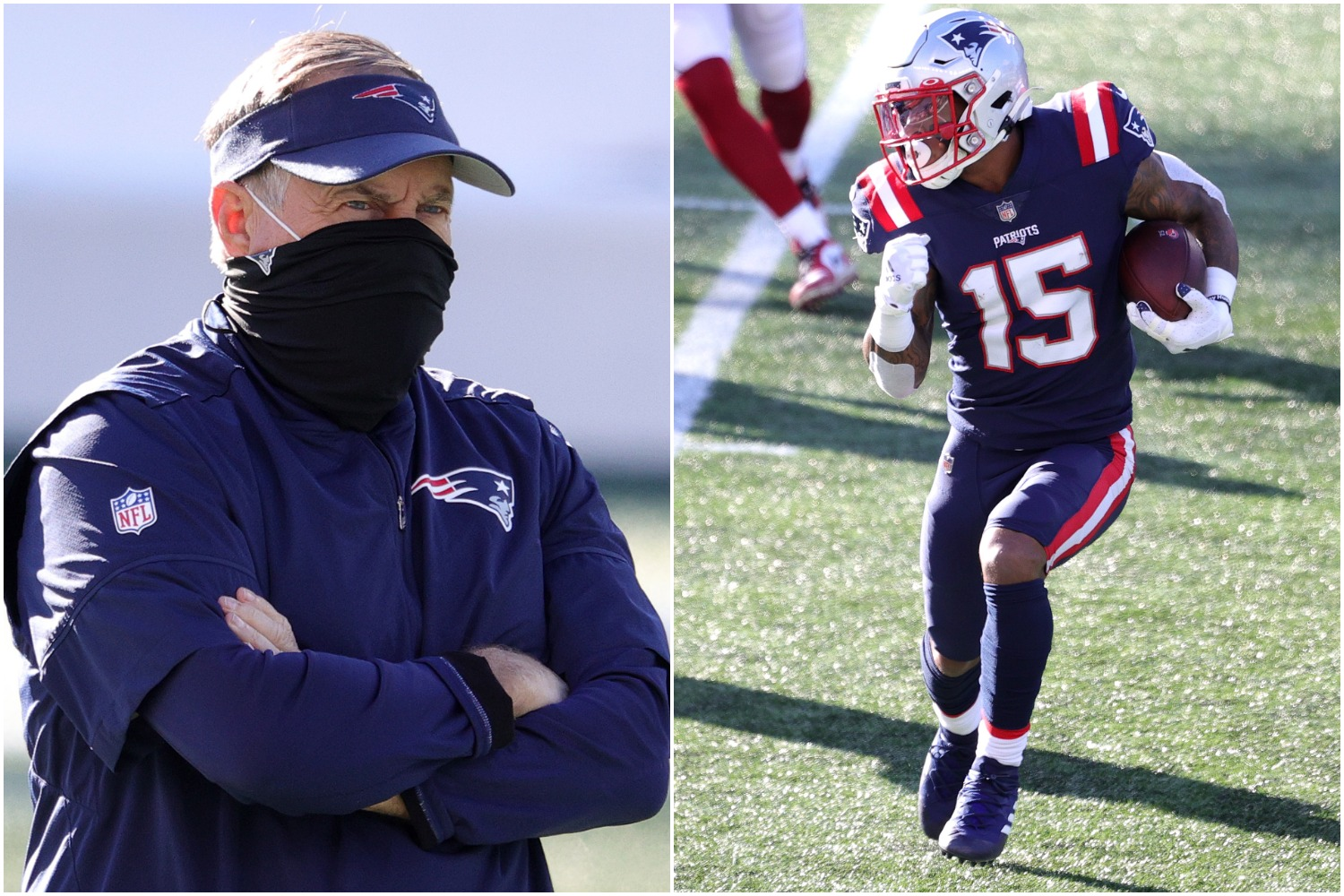 Bill Belichick just fired a warning shot at N'Keal Harry by elevating Donte Moncrief to the Patriots' active roster.