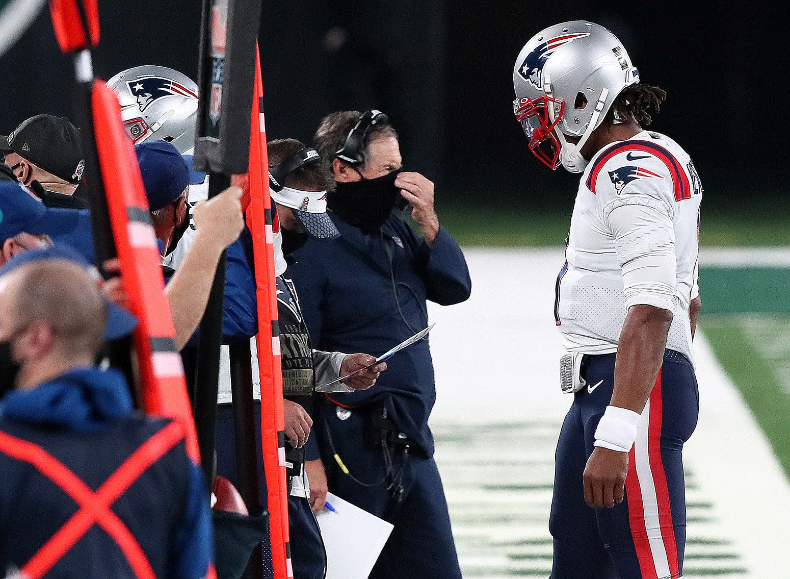 Bill Belichick Patriots reason to ditch Cam Newton