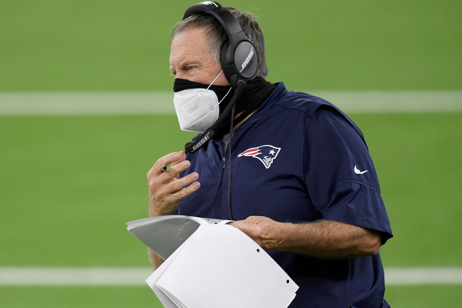 Bill Belichick got brief vindication for his worst NFL draft mistake on Thursday, as Patriots WR N'Keal Harry made several impressive catches that showed why the team used a first-round pick on him in 2019.
