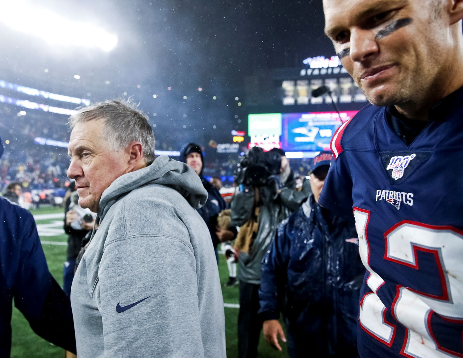 Bill Belichick could get the last laugh over Tom Brady if the Detroit Lions end up hiring a former Patriots executive to be their next general manager.