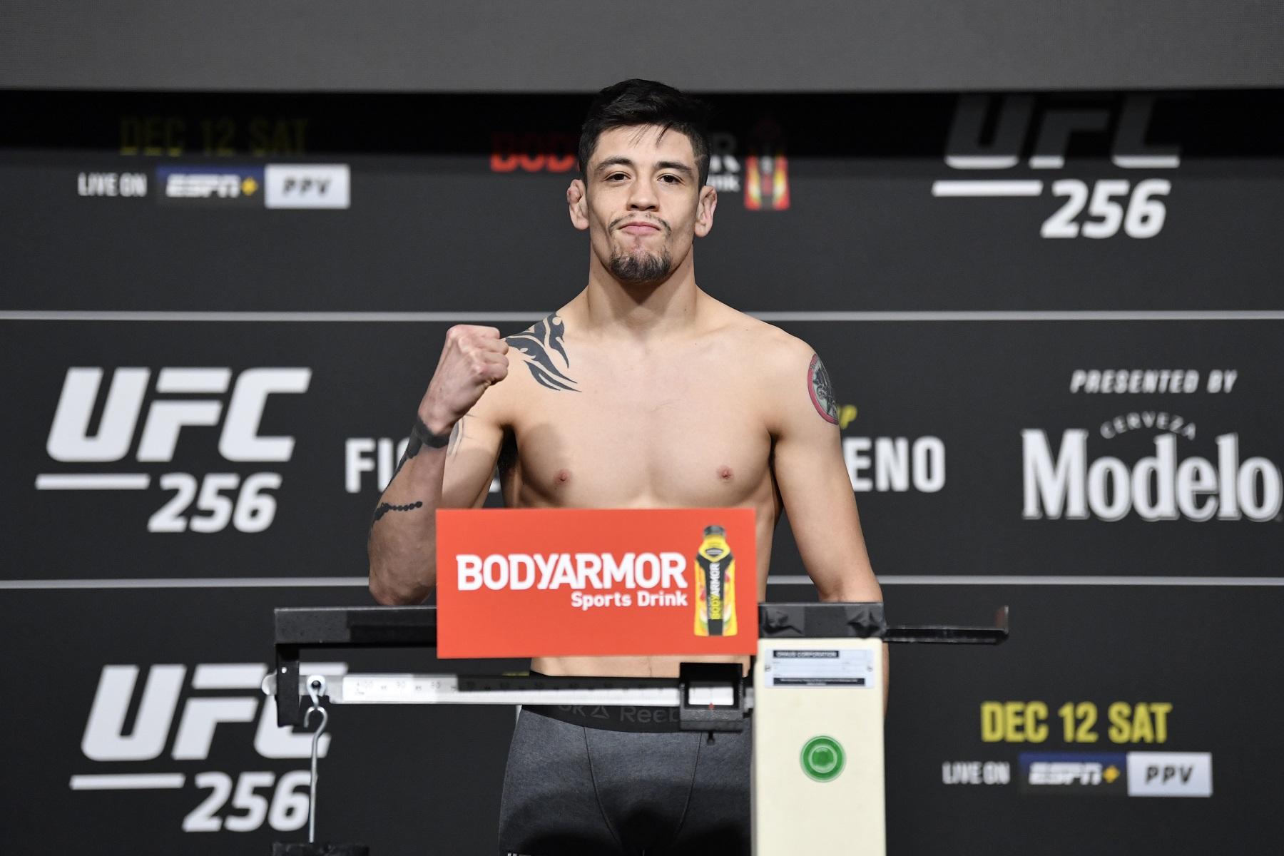 UFC 256 Flyweight Brandon Moreno Was Raised To Treat People Like Punching Bags
