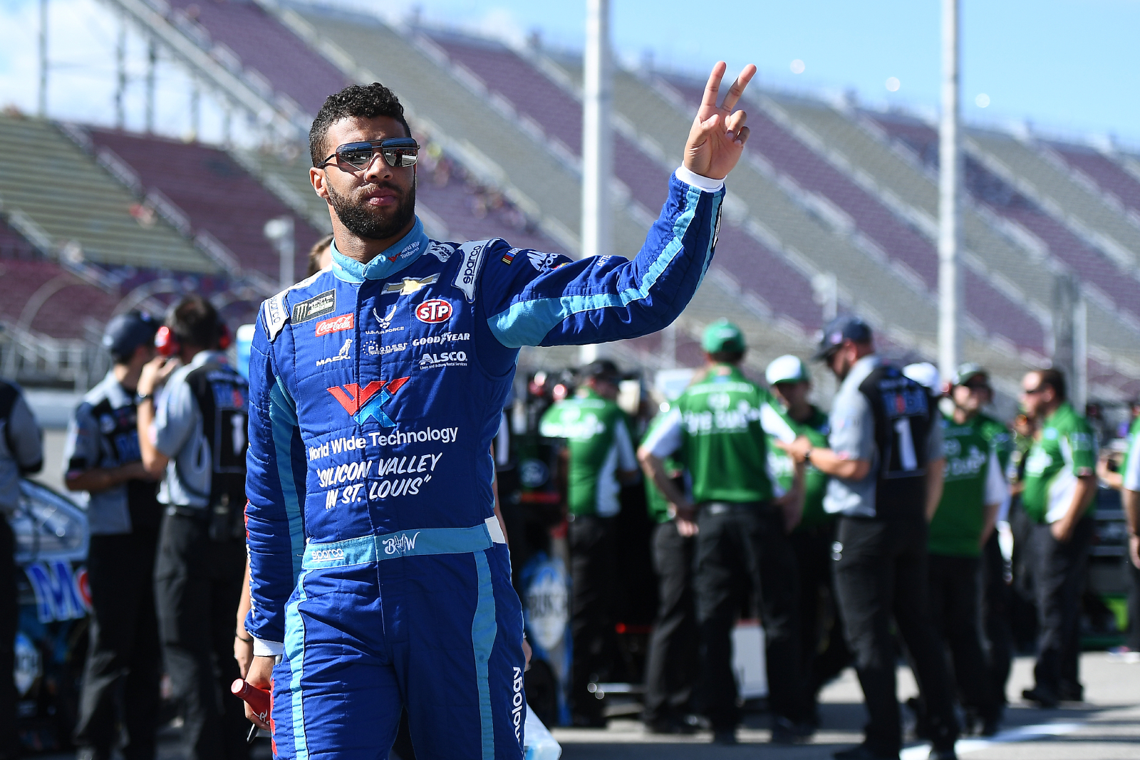 Bubba Wallace and Kyle Larson spoke after Larson used a racial slur earlier this year. Wallace recently opened up about their conversation.