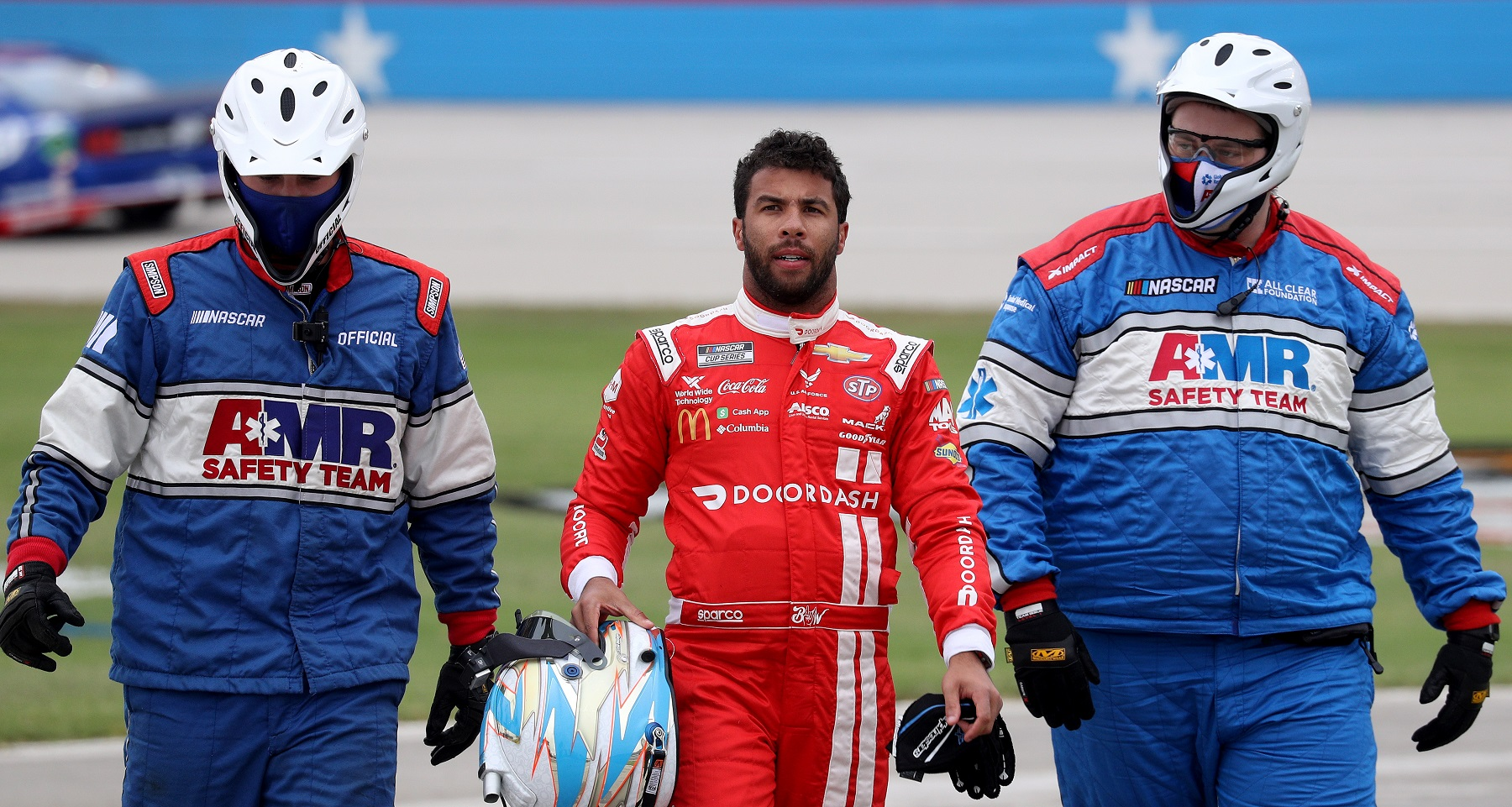 Bubba Wallace is driving for Michael Jordan's NASCAR team